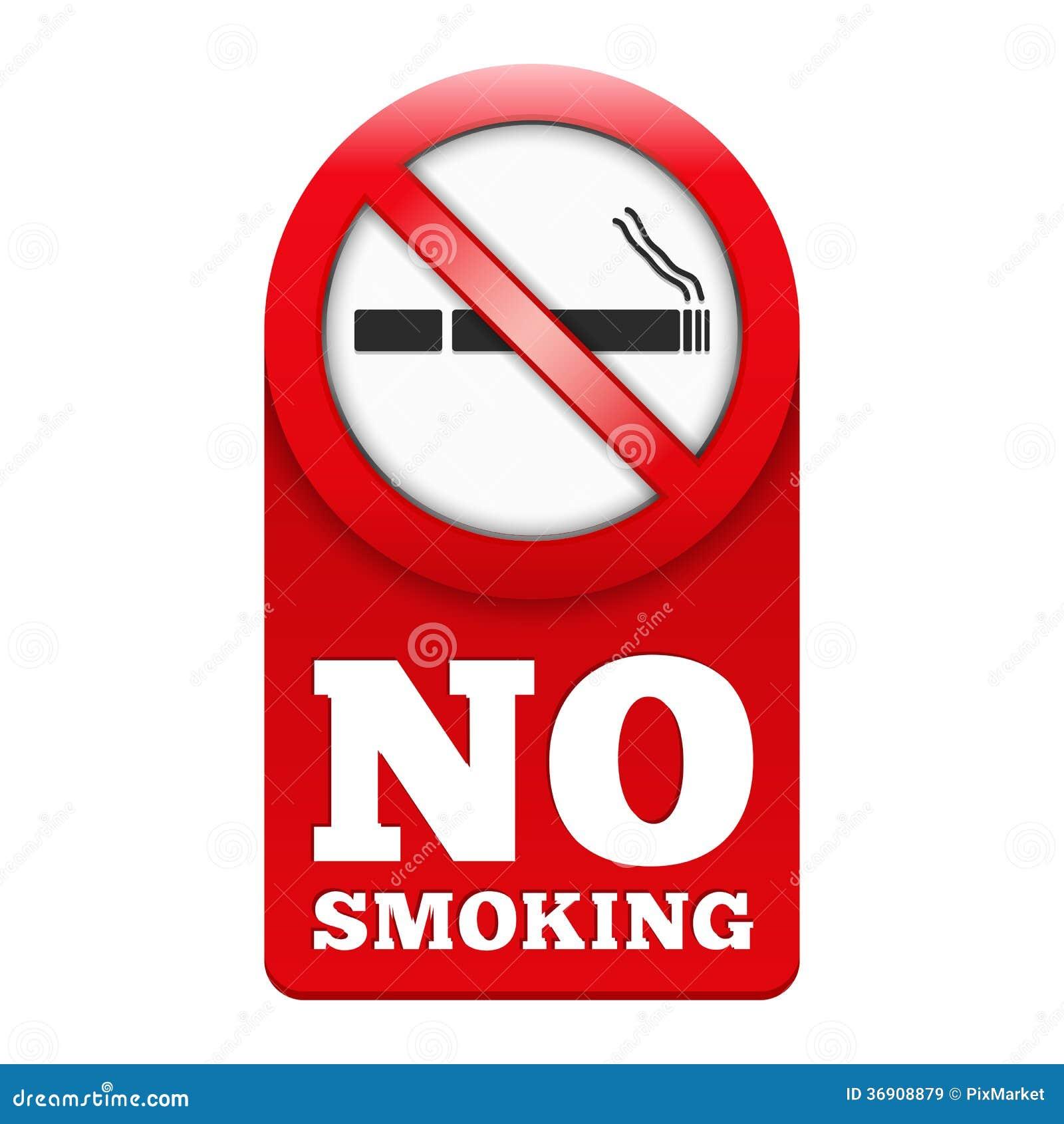 Palenie Zabronione znak