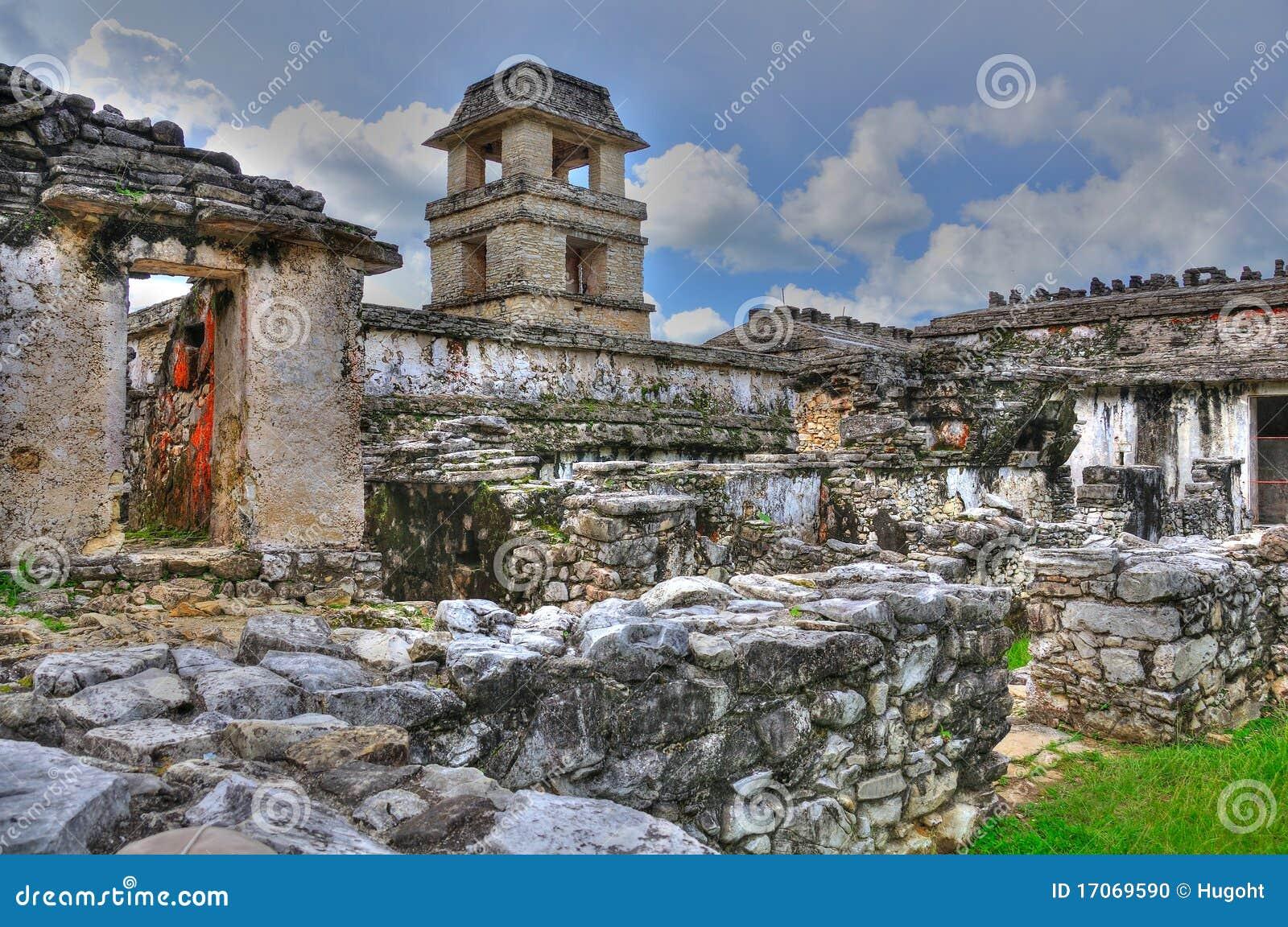 Palenque alte Maya-Ruinen, Mexiko