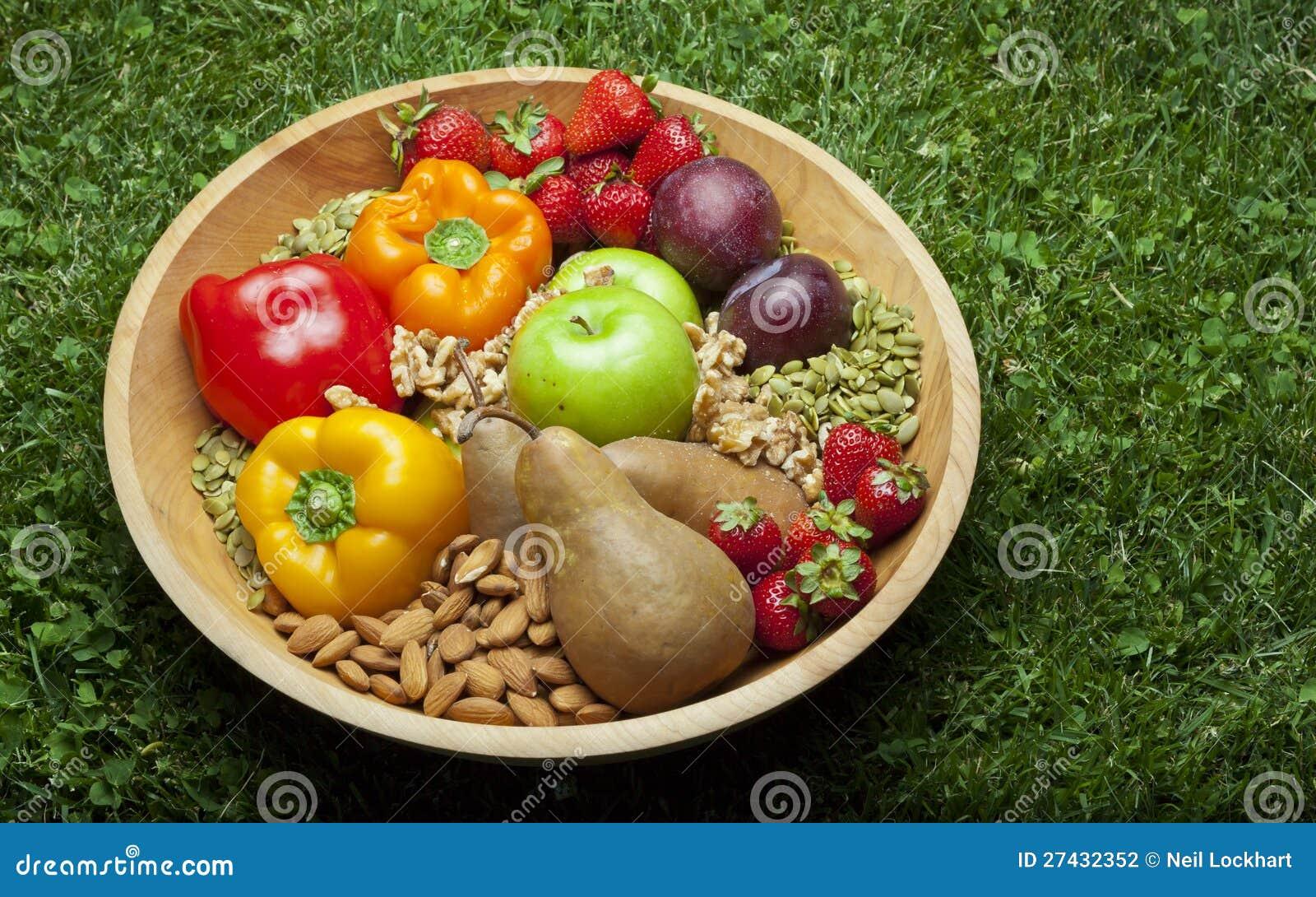 Paleo Foods in Bowl
