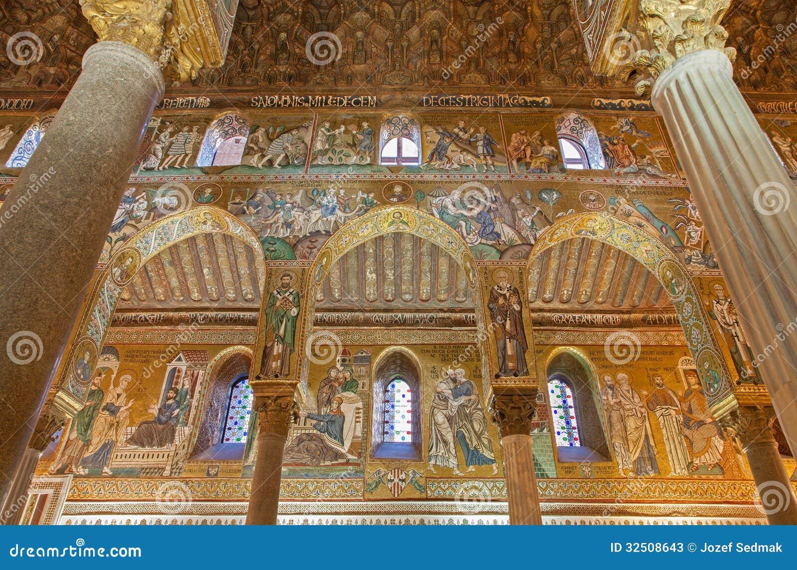 Palermo - mosaico de Cappella Palatina
