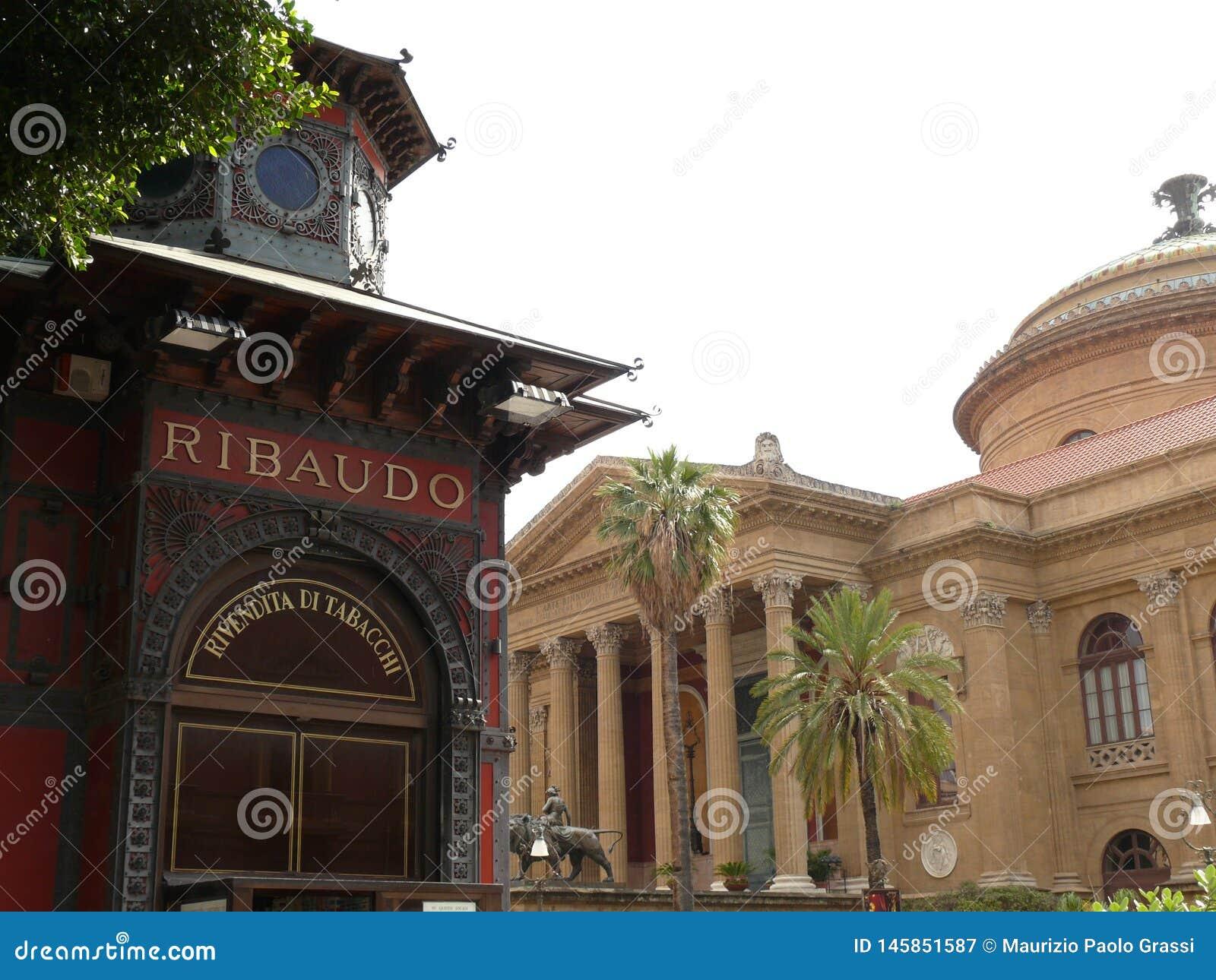 Palermo, Sicili?, Itali? 11/04/2010 Maximumtheater