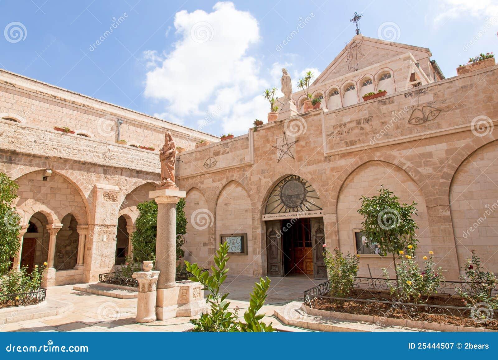 Palestin. Bethlehem. The Church of the Nativity