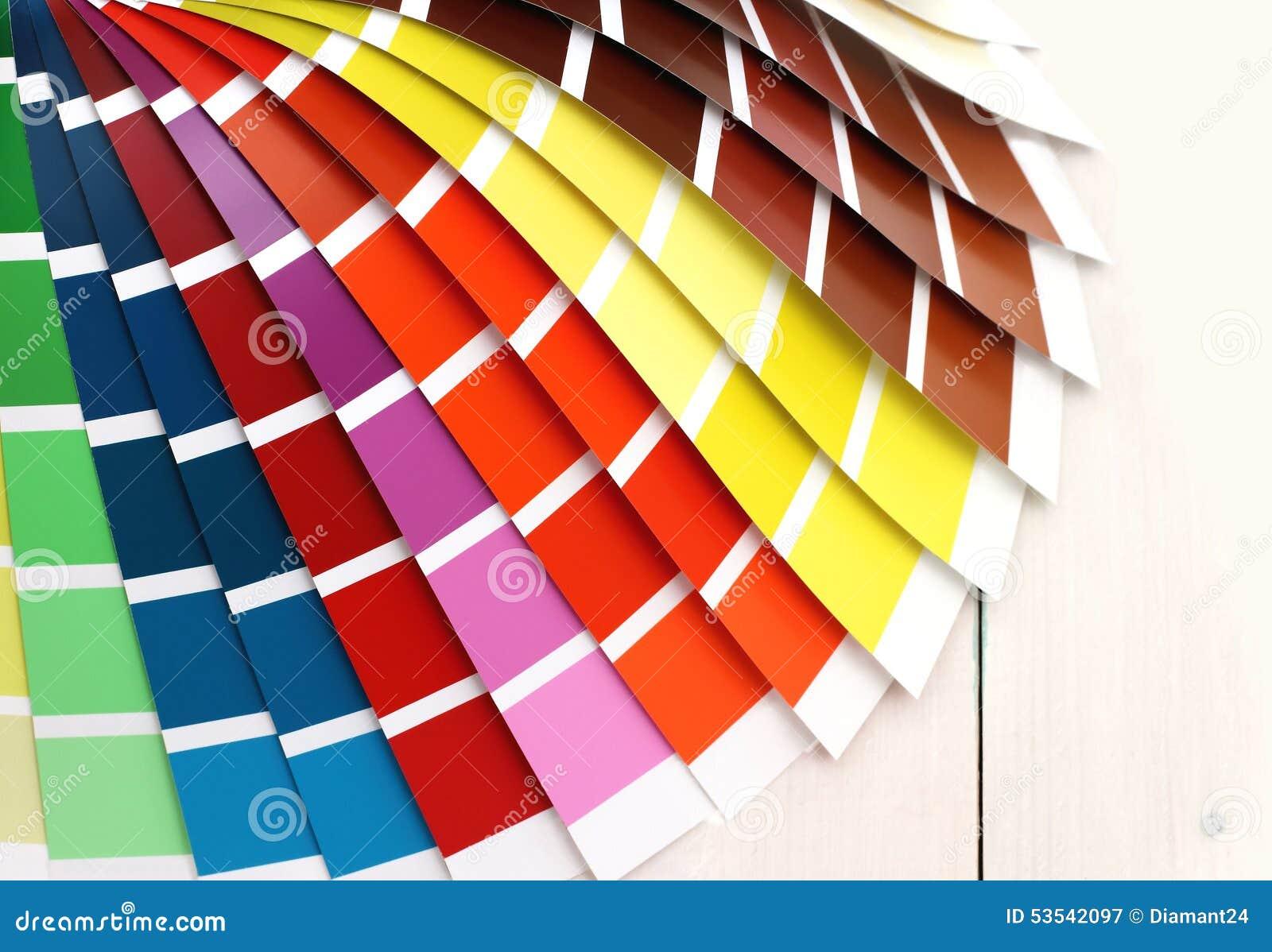 Moderno Libros De Color Pantone Para Ilustrador Adorno - Dibujos ...