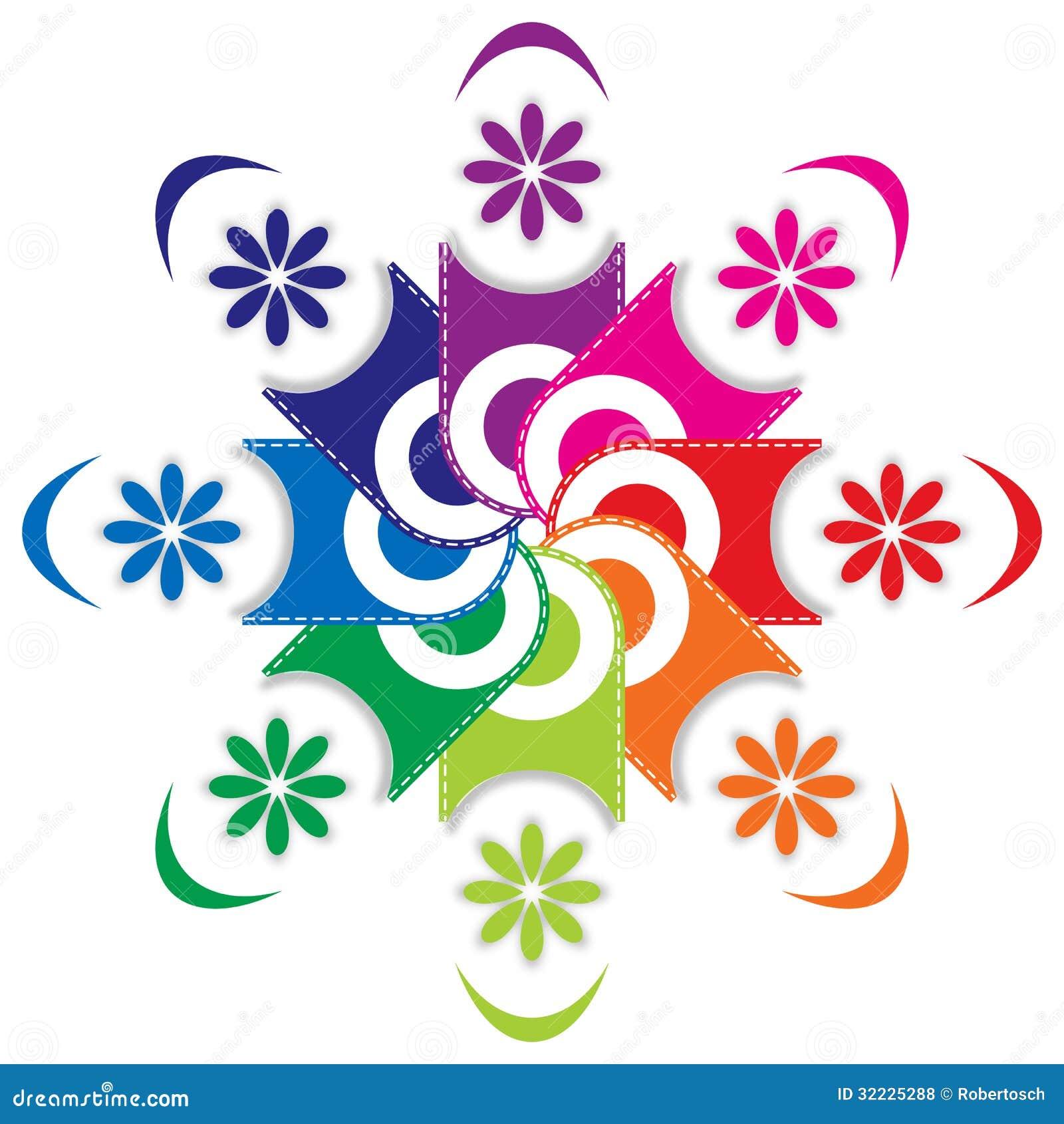 Download Paleta de cores retro ilustração do vetor. Ilustração de palette - 32225288
