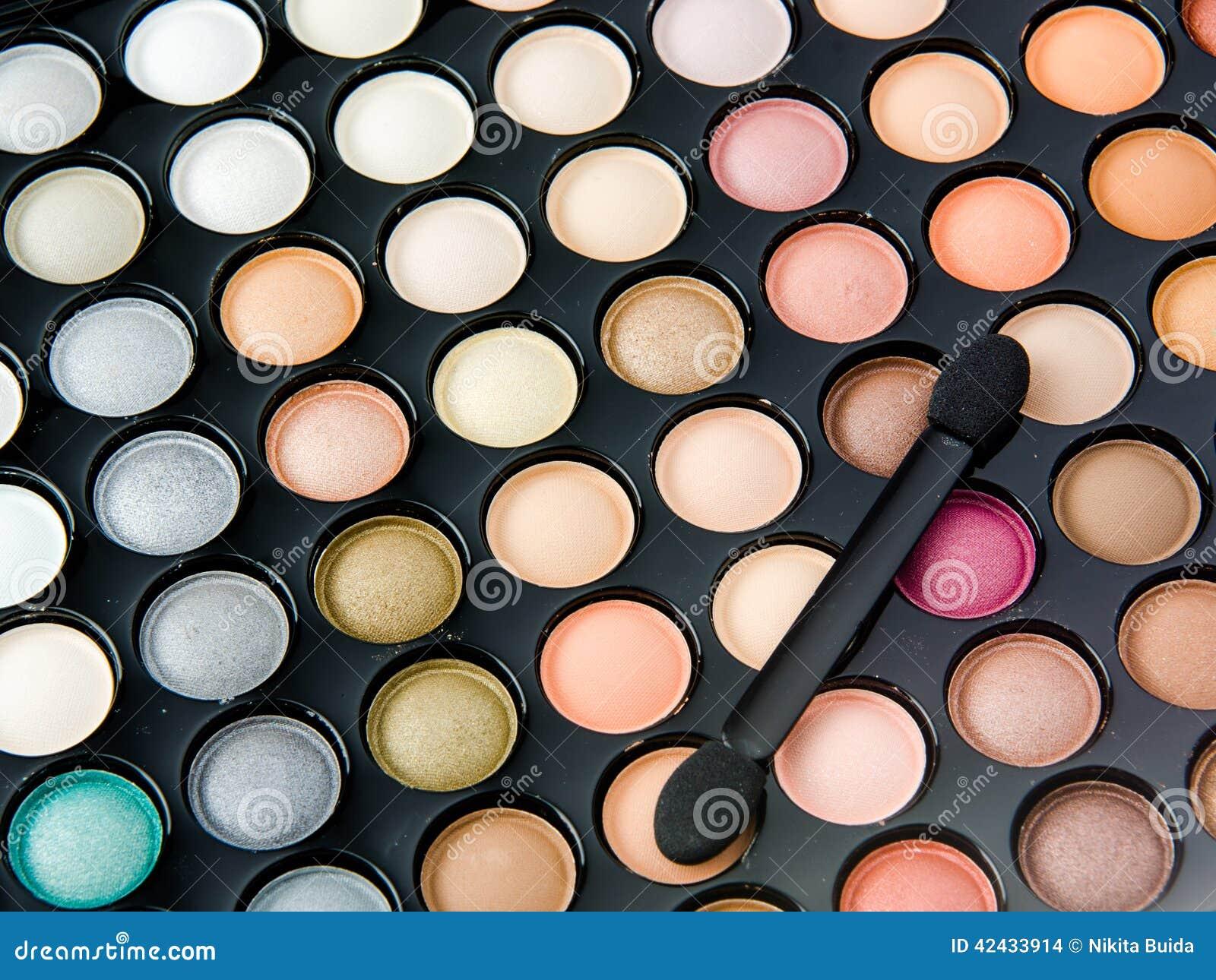 Paleta profesional del maquillaje