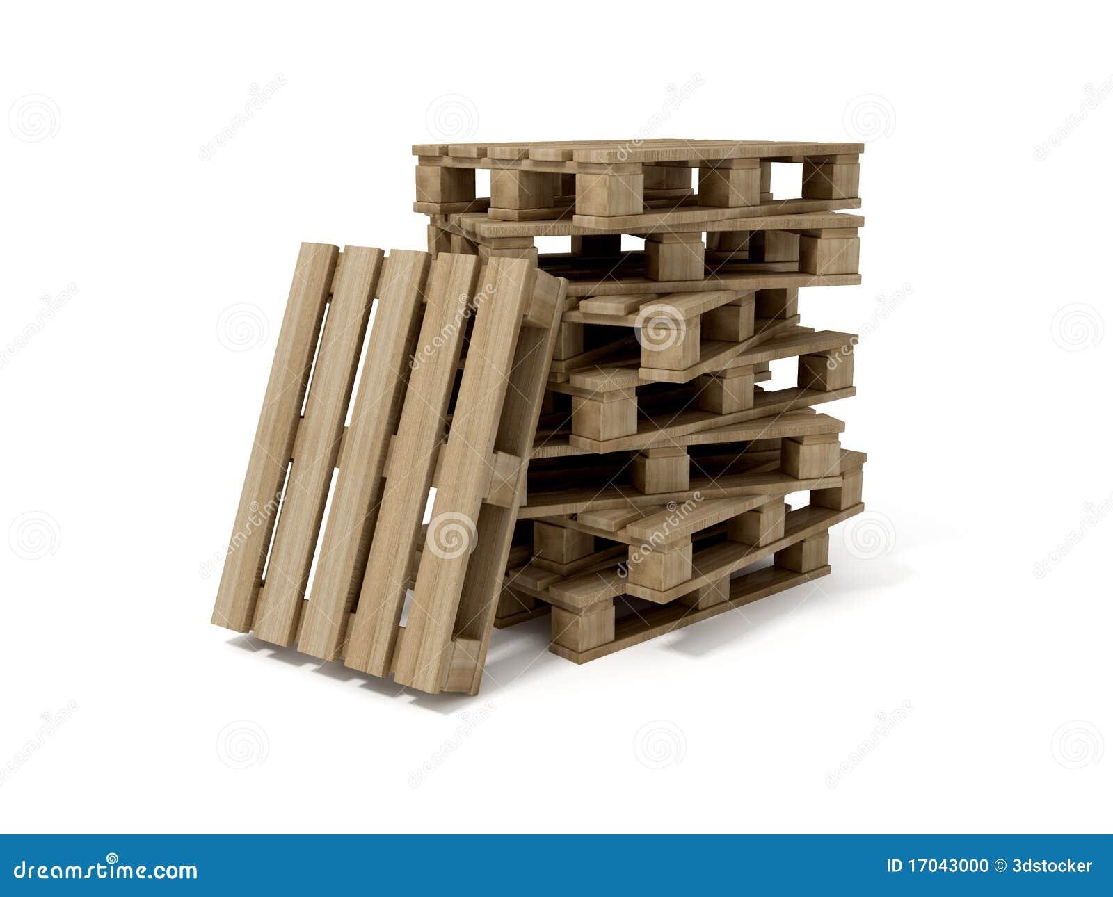 Paletas de madera foto de archivo imagen 17043000 for Paletas madera