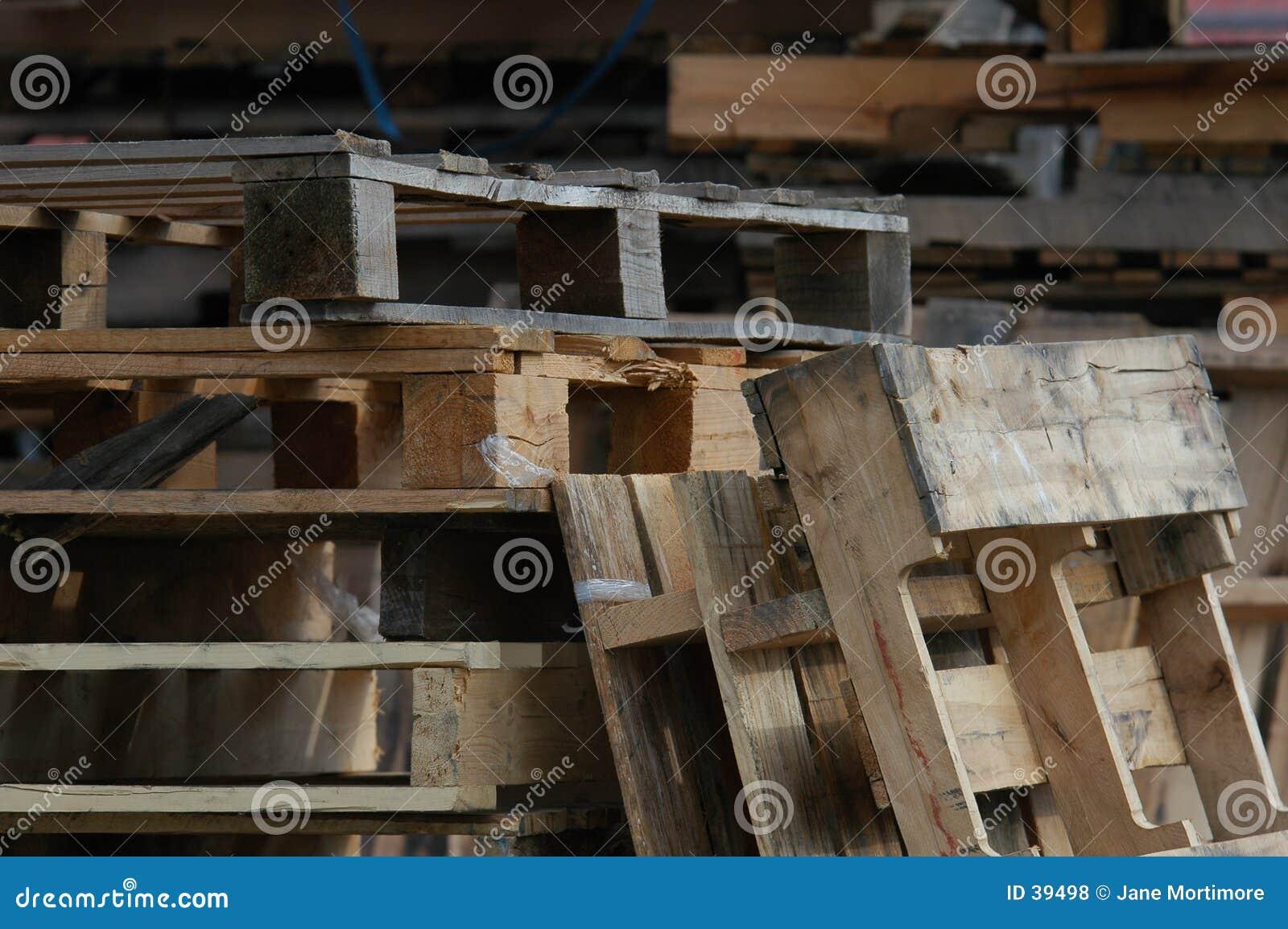 Download Paletas de madera foto de archivo. Imagen de nave, paquete - 39498