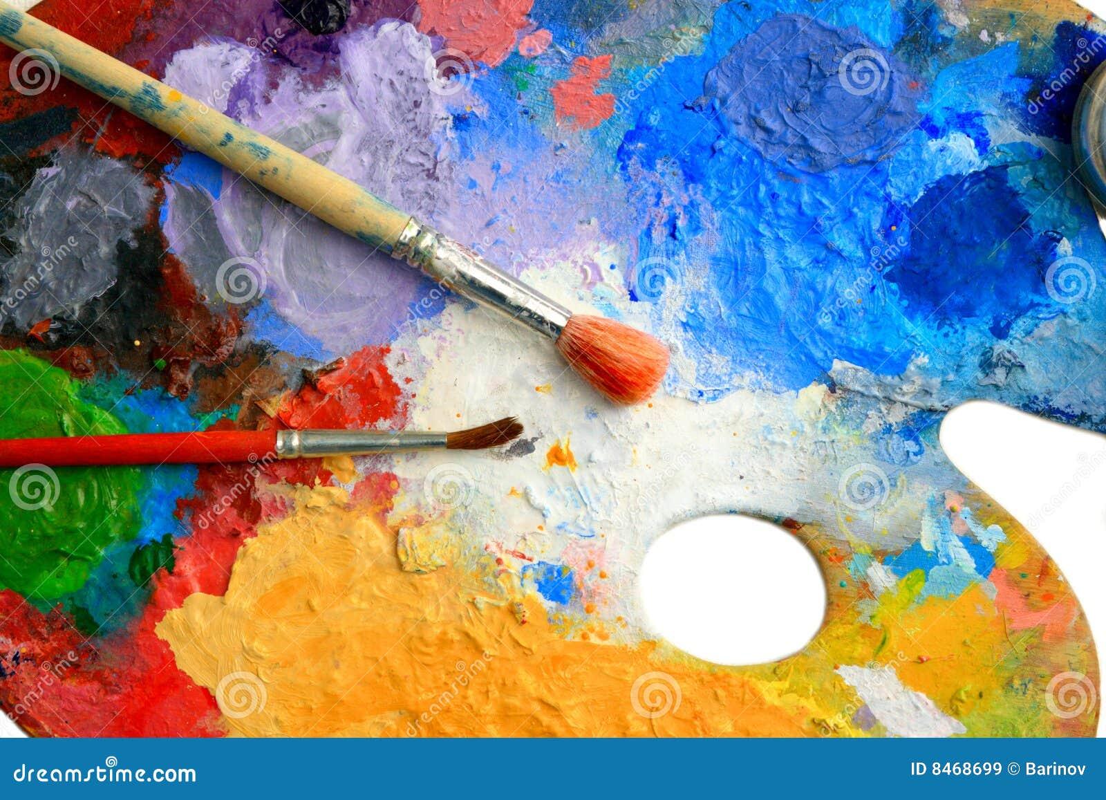 Palett två för konstborstelay