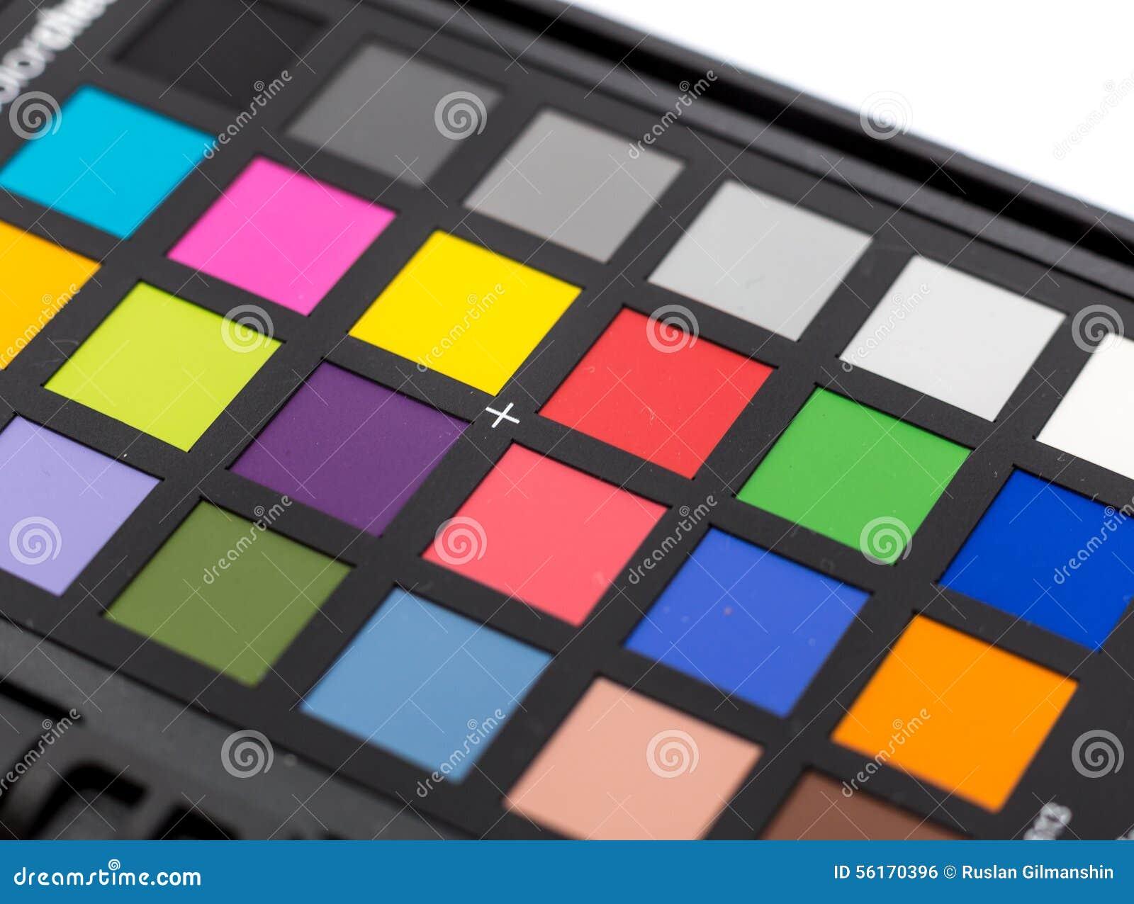 Palette d 39 chantillons de couleur photo stock image 56170396 - Echantillon de couleurs de peinture ...