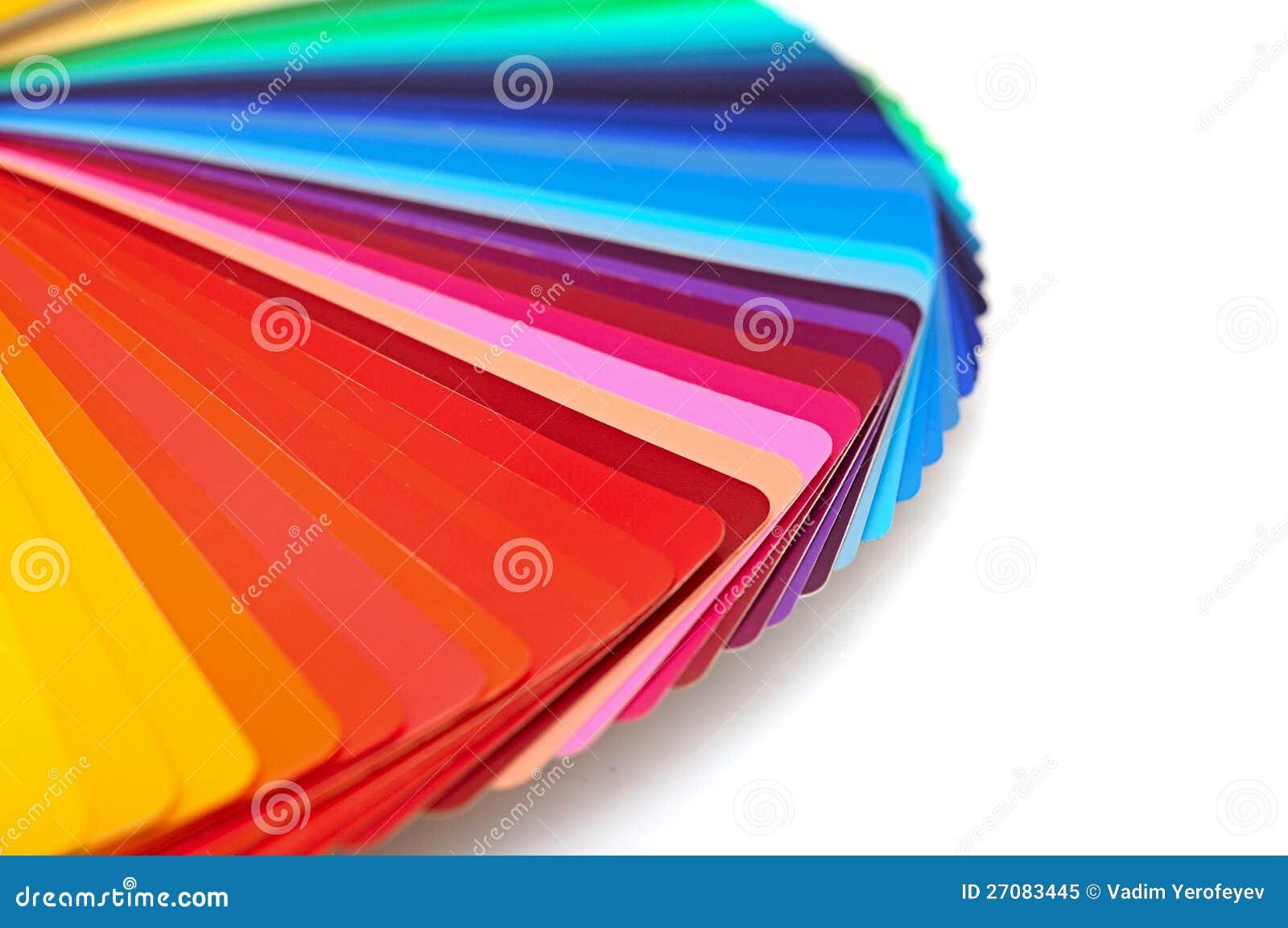 Palette De Couleur Darc En Ciel Image Stock Image Du Bleu