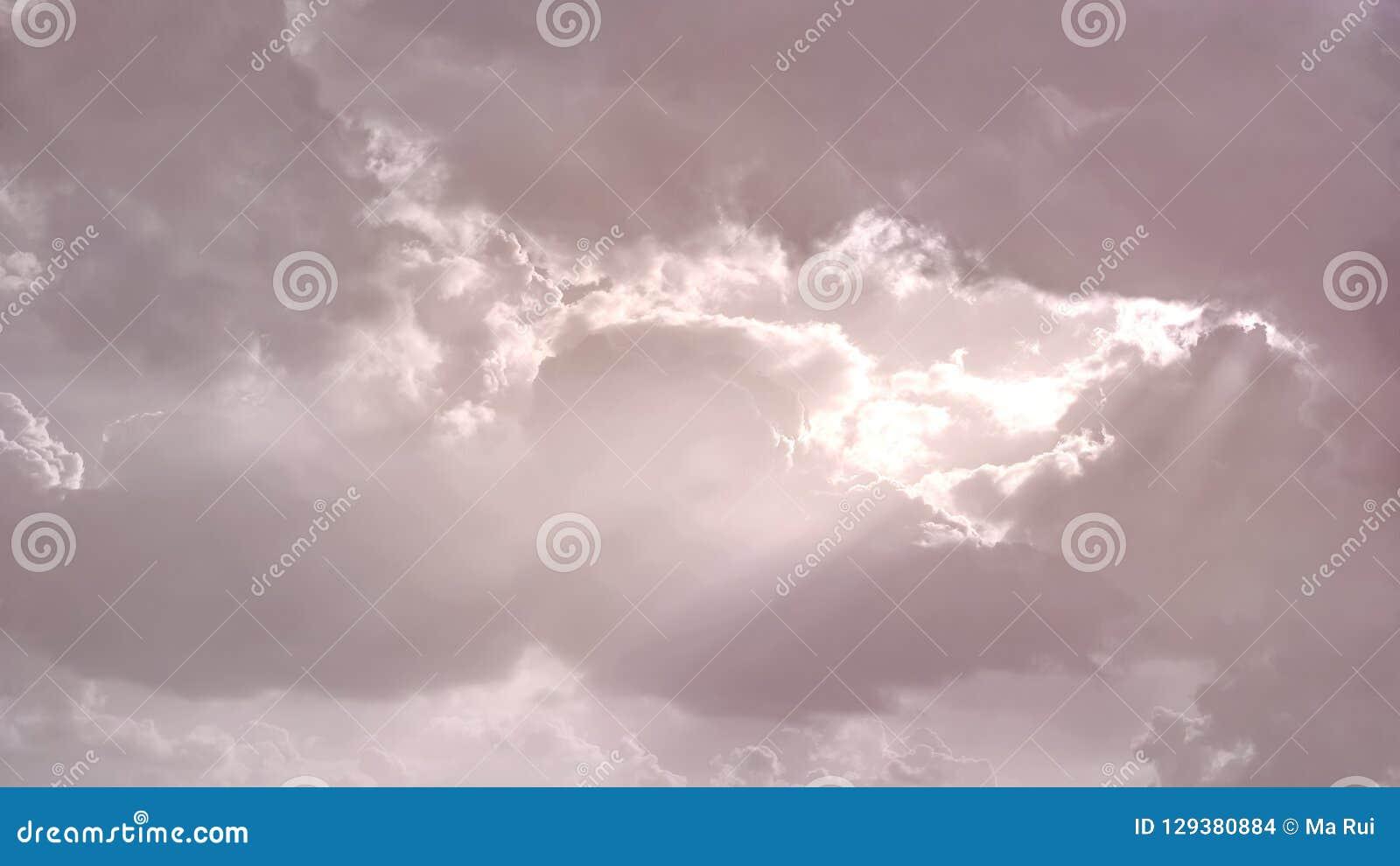 Palette De Couleurs De Ciel Rose De Serie En Pastel Photo Stock