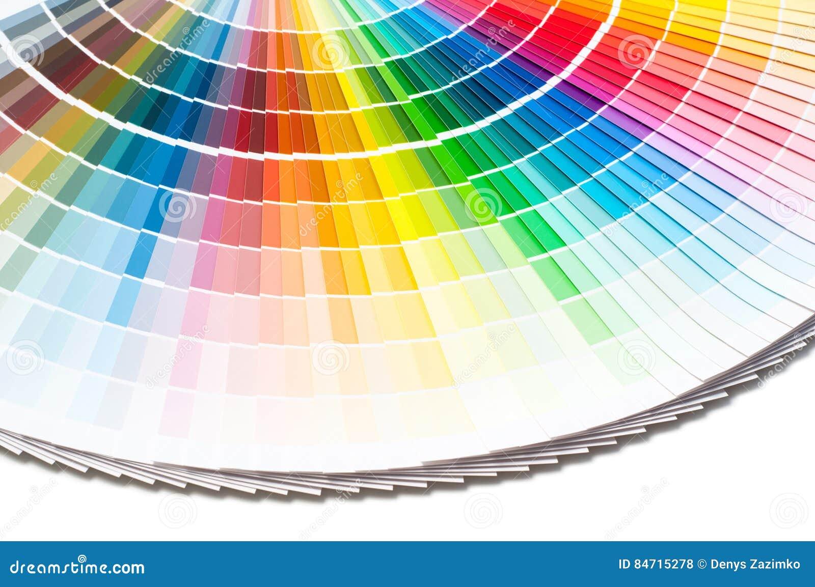 Colorez La Palette Ral, Guide De Couleur, Les échantillons De Peinture,  Catalogue De Couleur Sur Le Backround Blanc