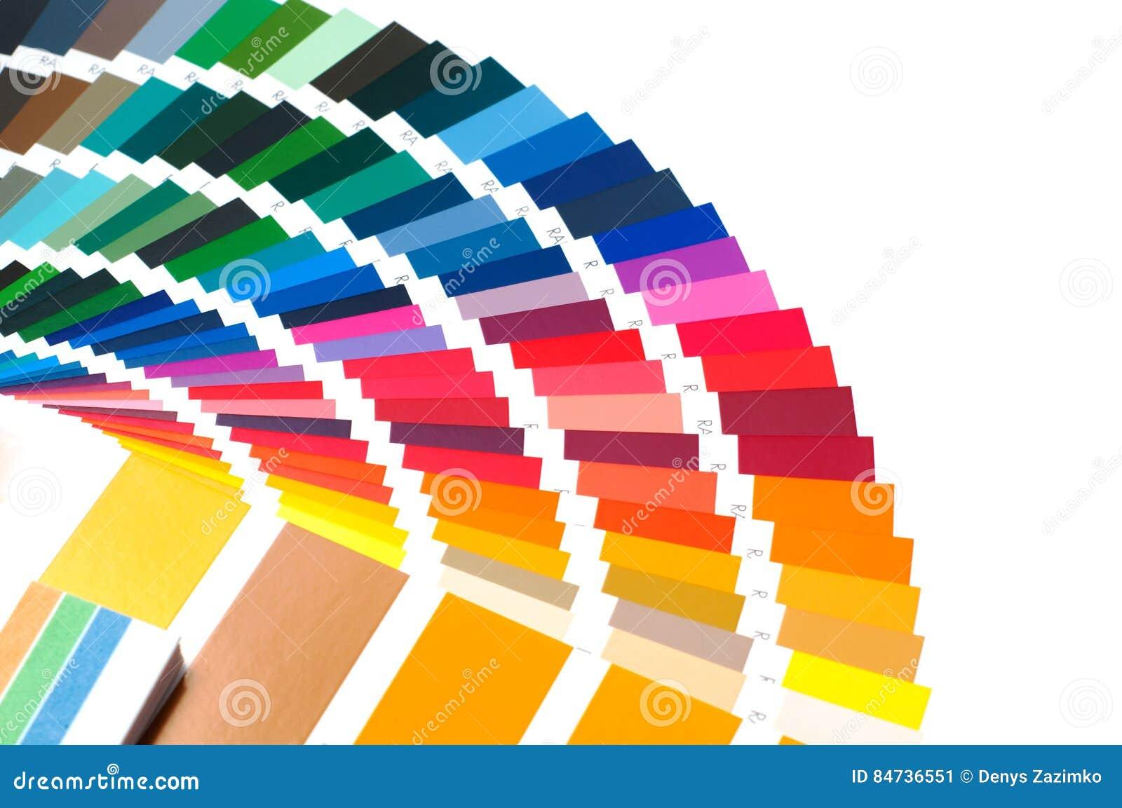 Palette De Couleurs Guide De Couleur échantillons De