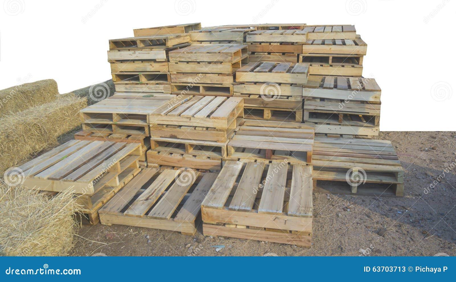 palette en bois image stock image du planche commerce 63703713. Black Bedroom Furniture Sets. Home Design Ideas