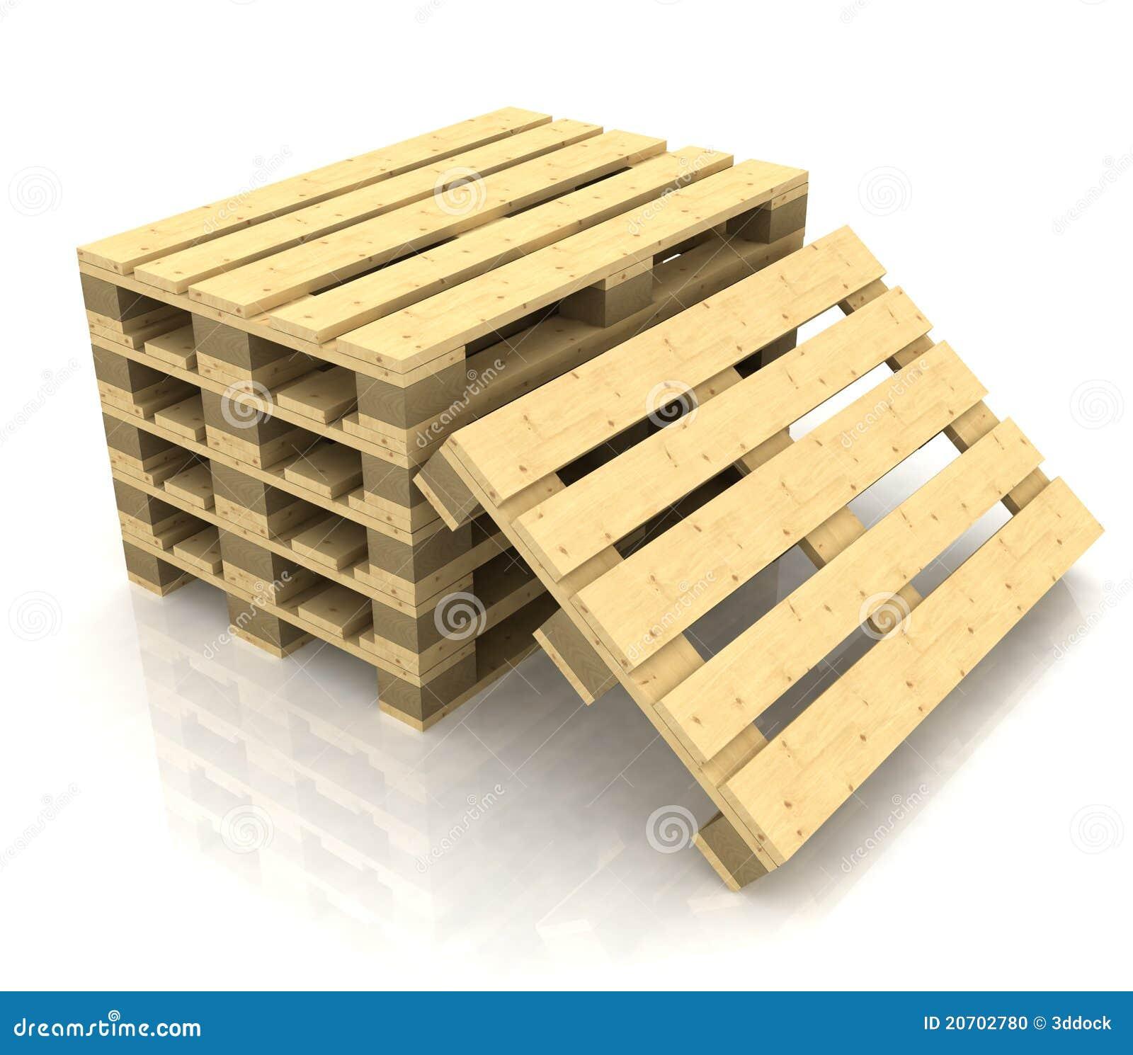 palettes en bois photo stock image 20702780. Black Bedroom Furniture Sets. Home Design Ideas