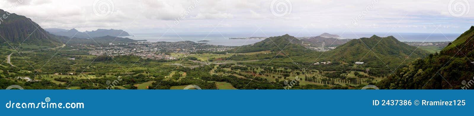 Pali Ausblick, Hawaii