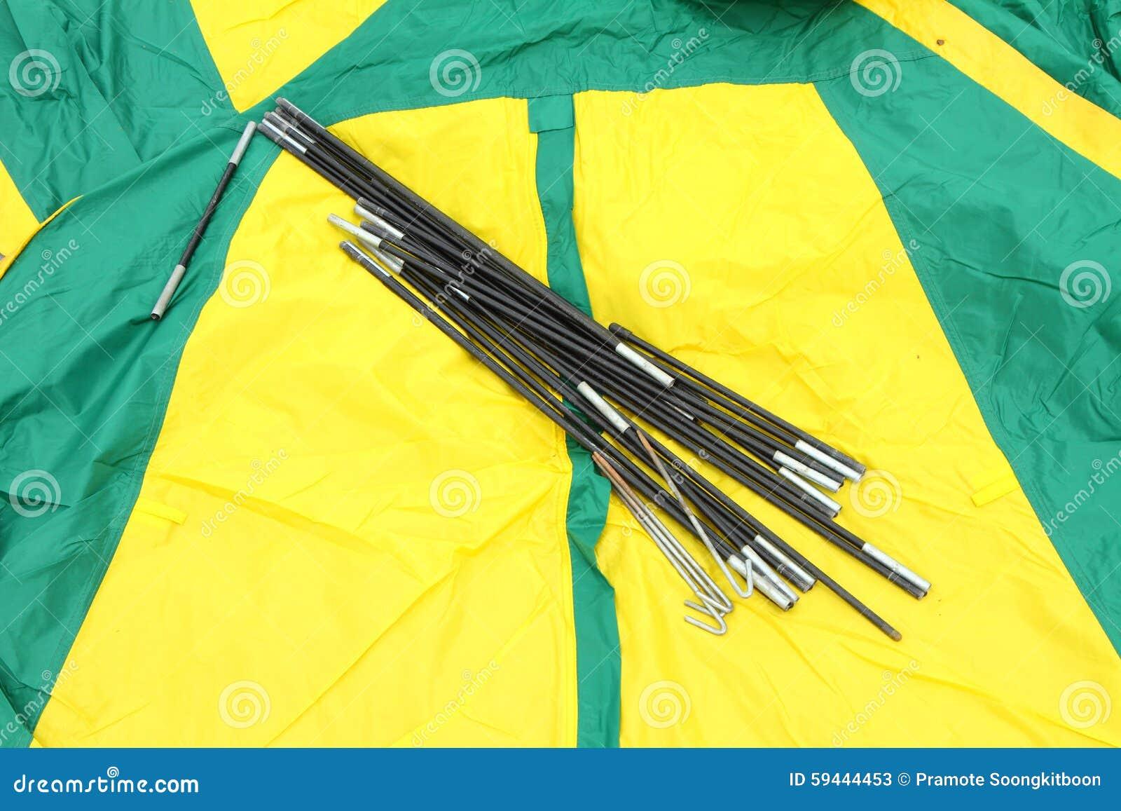 Pali della tenda
