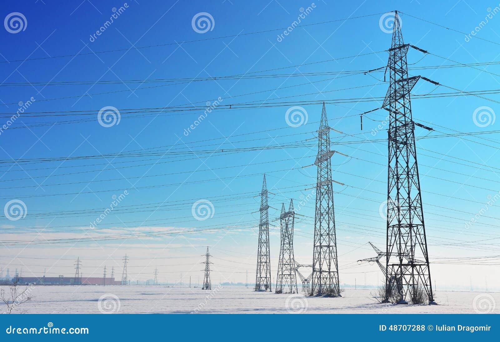 Pali di elettricità
