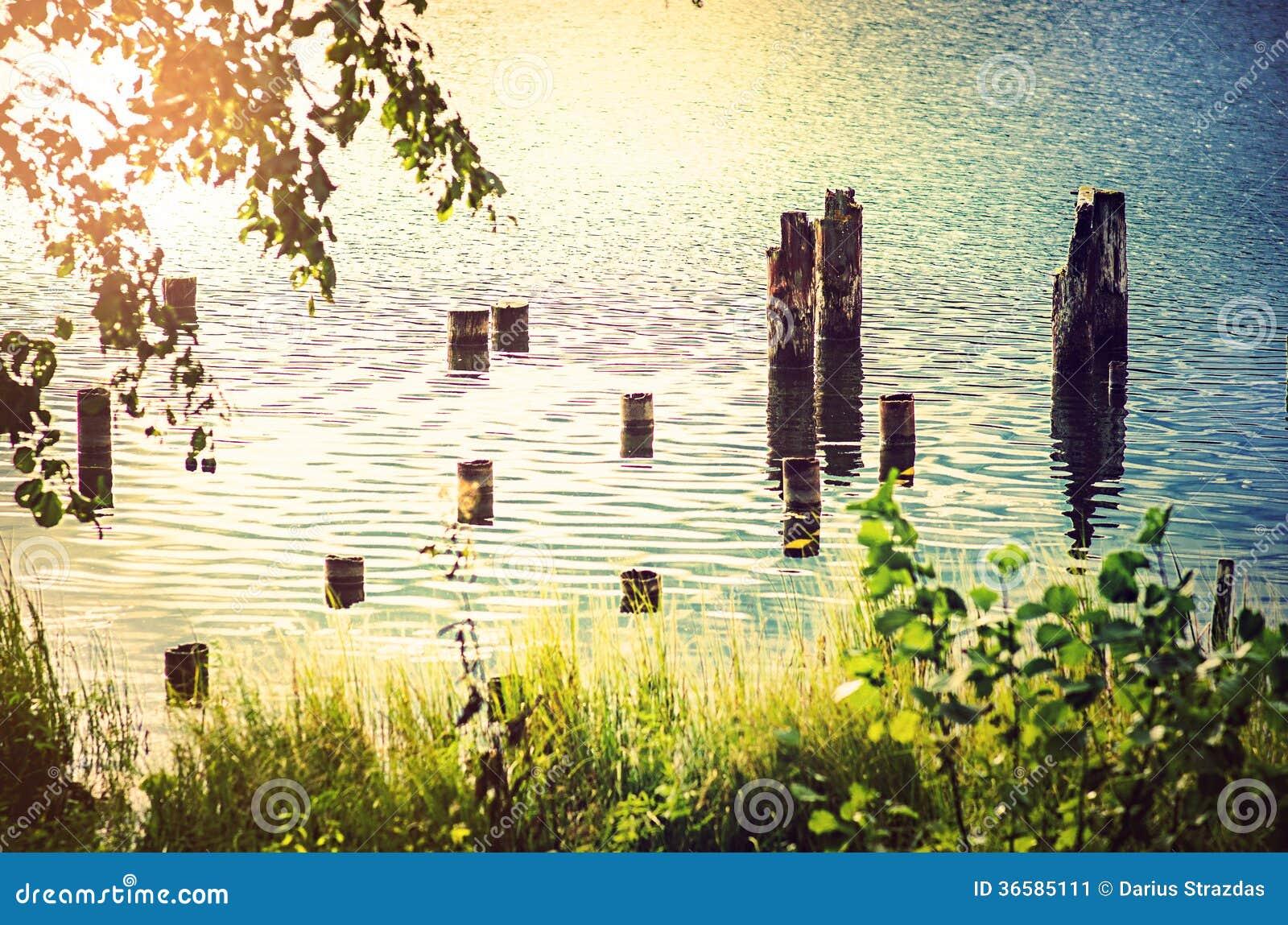 Pali in lago