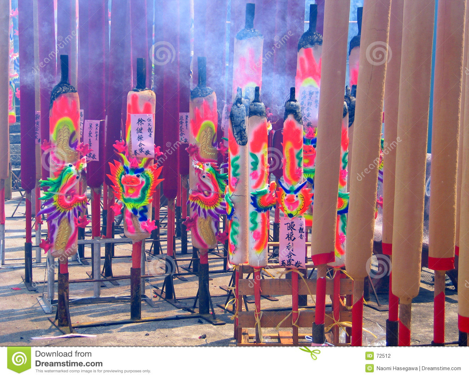 Palillos de ídolo chino