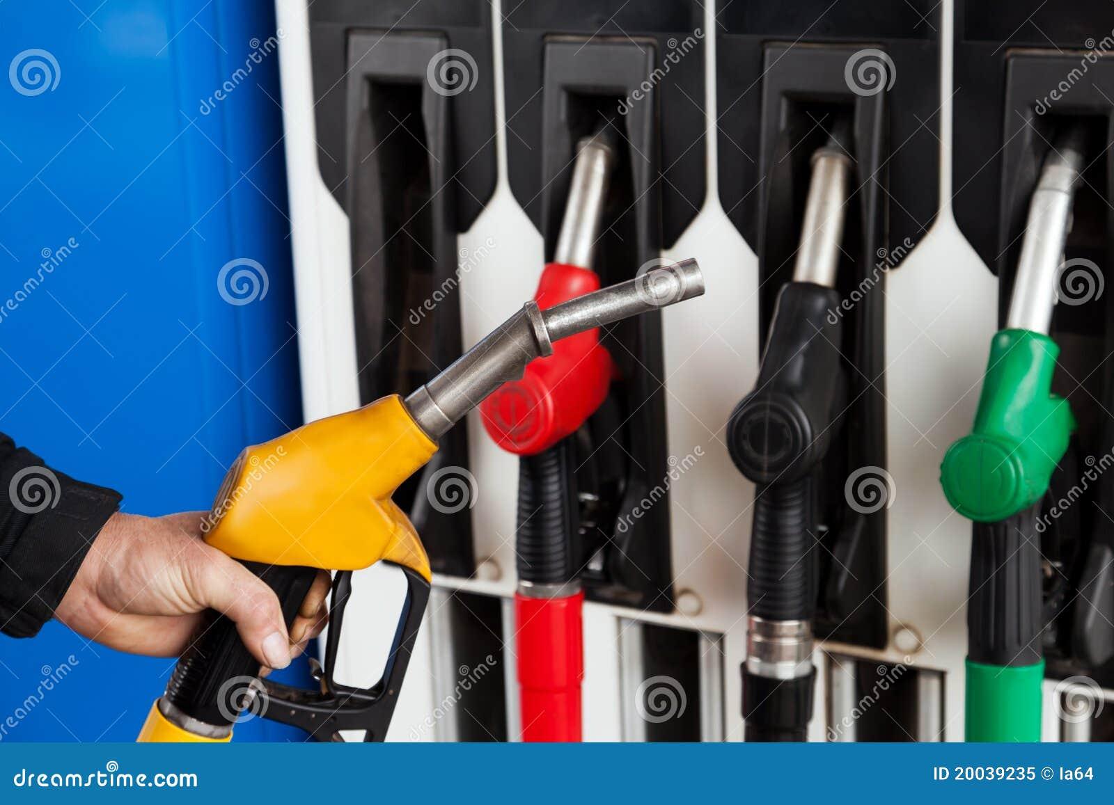 Paliwowa benzyny pomp stacja