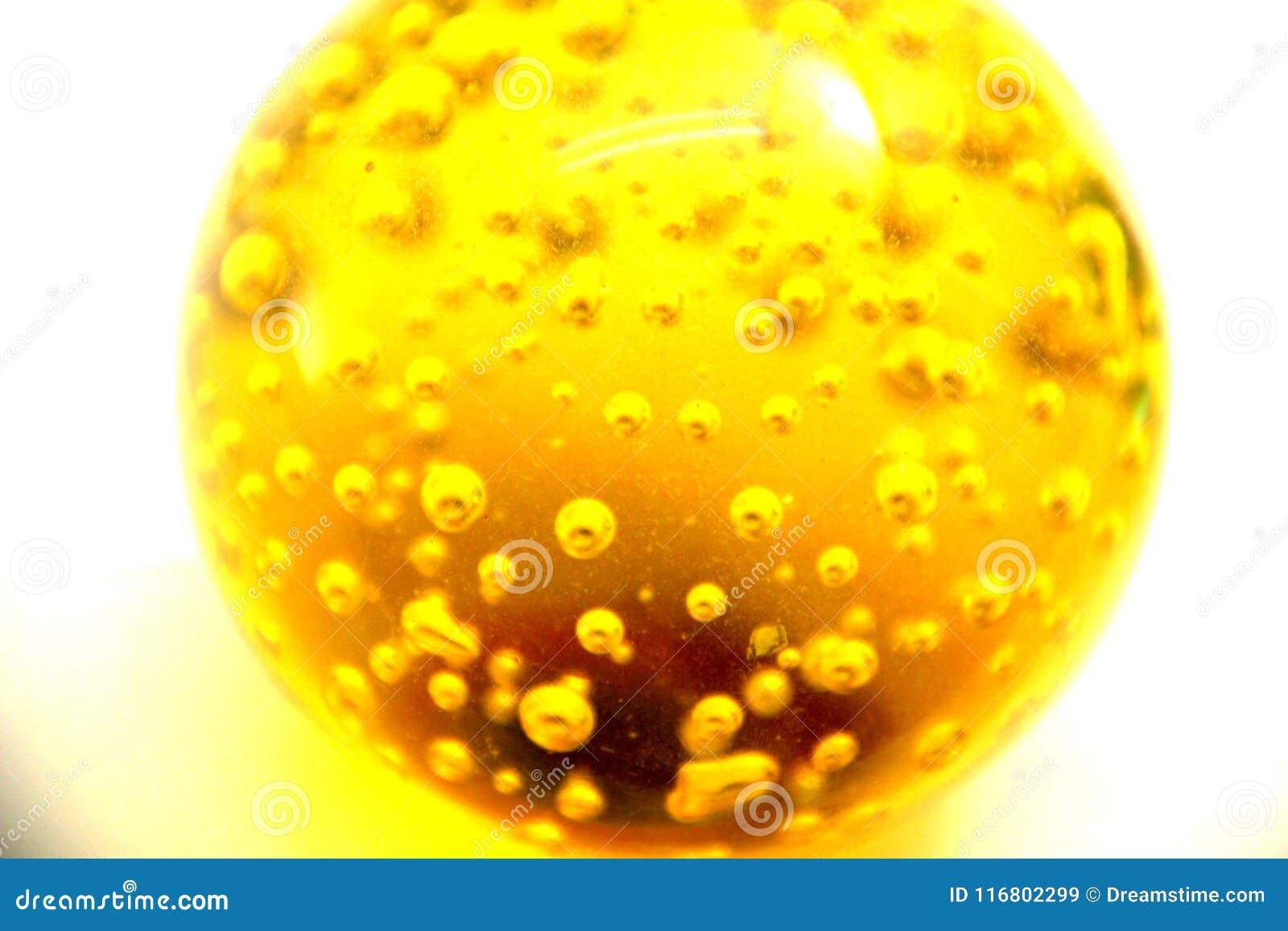 Palla dell olio dell oro giallo