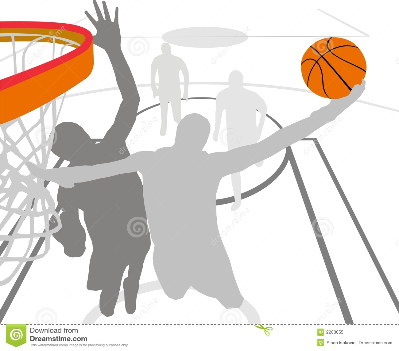 Pallacanestro illustrazione vettoriale illustrazione di - Immagini stampabili di pallacanestro ...
