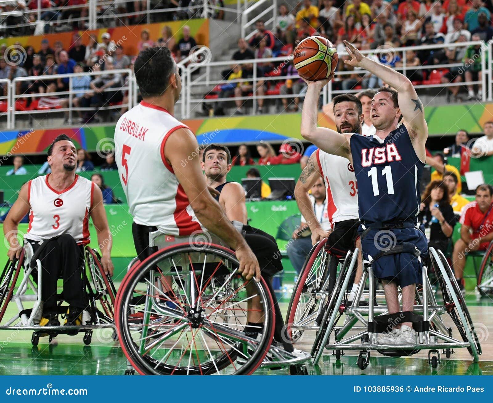 Pallacanestro 2016 dei giochi di paraolimpiadi