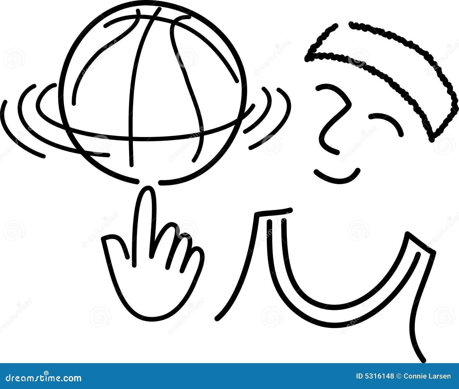 Download Pallacanestro Player/ai Del Fumetto Illustrazione Vettoriale - Illustrazione di illustrazioni, clip: 5316148