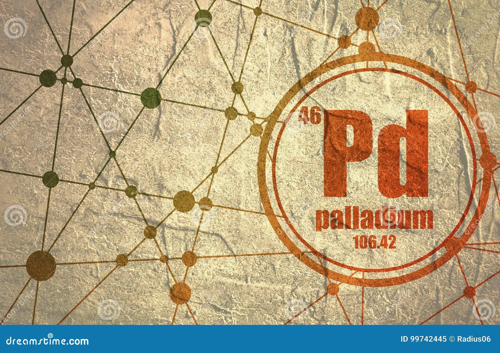 Palladium chemisch element