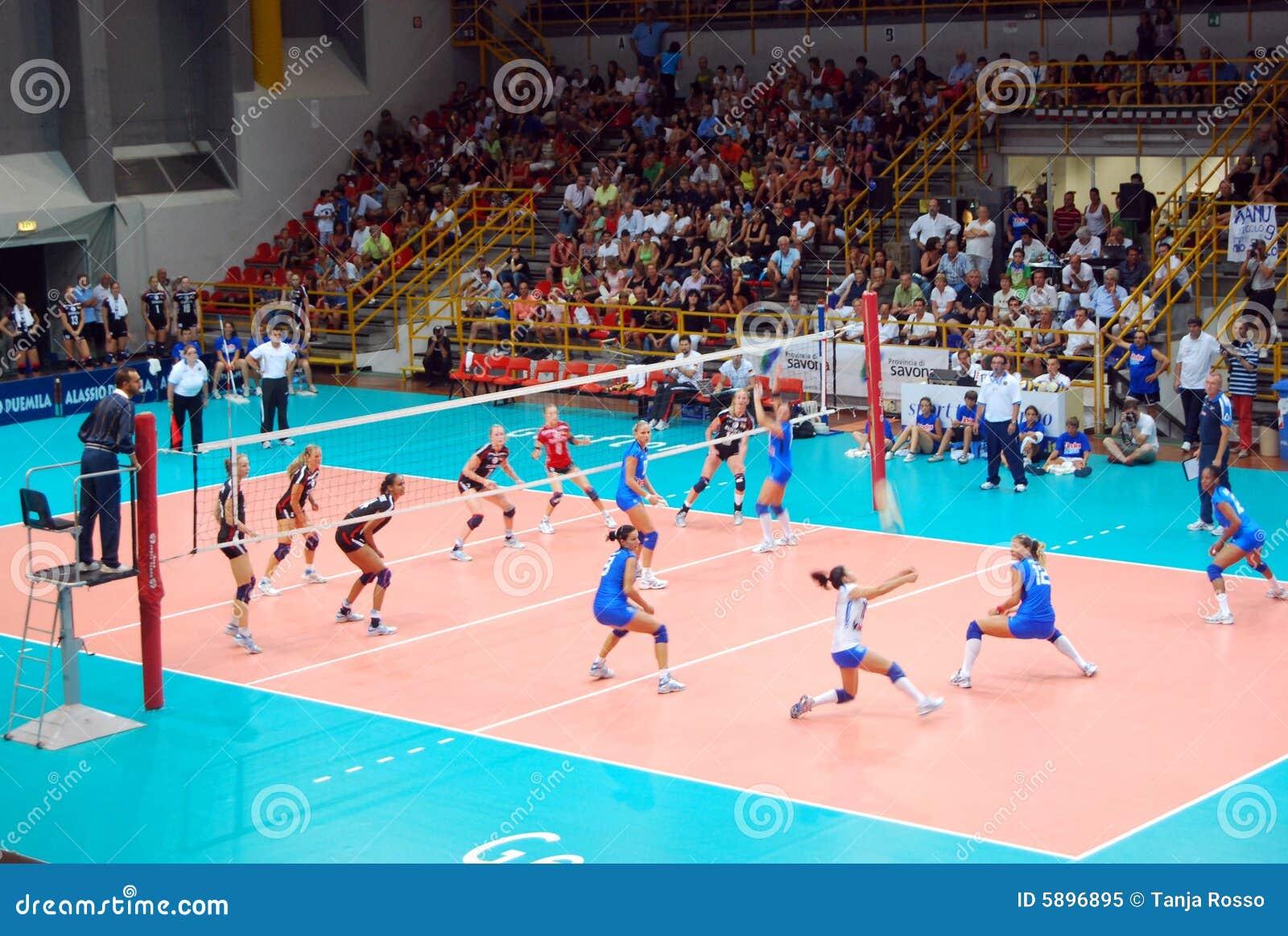 Pallavolo partita amichevole di preolympic immagine - Campi da pallavolo gratis stampabili ...
