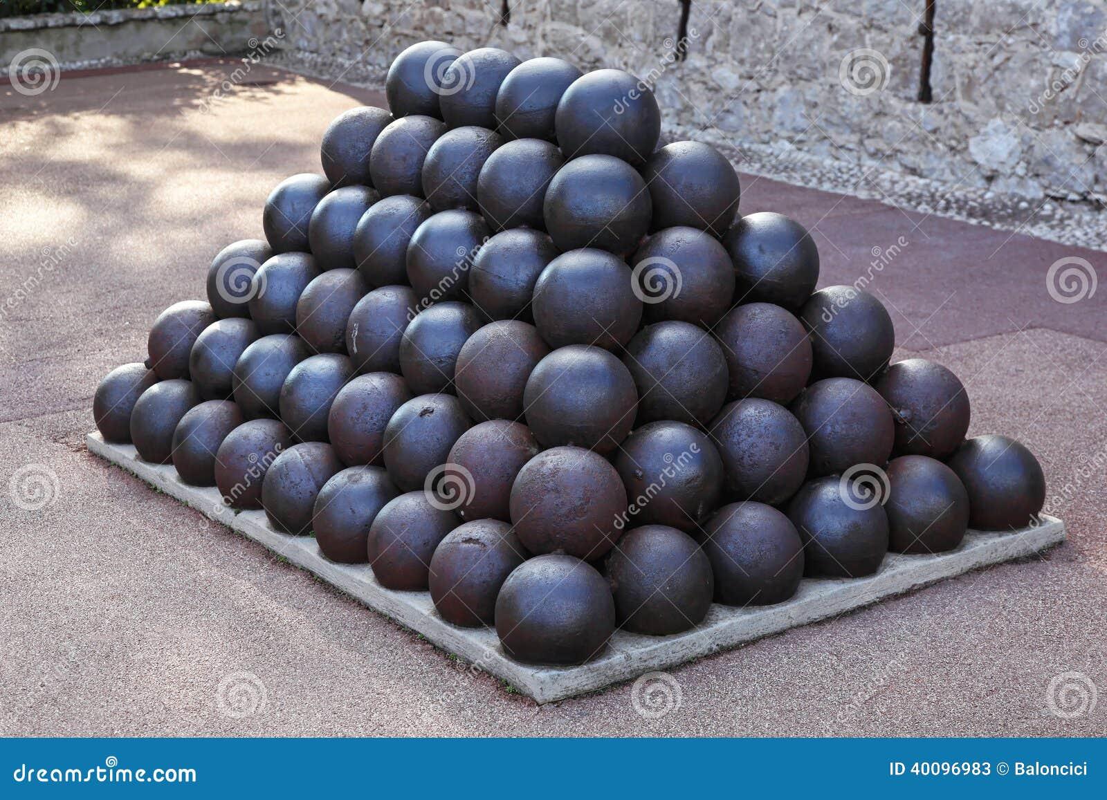 Cannone e lanciatore di palle