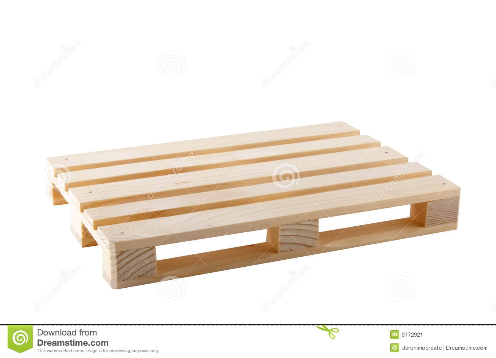 Empty Pallet Stock Image
