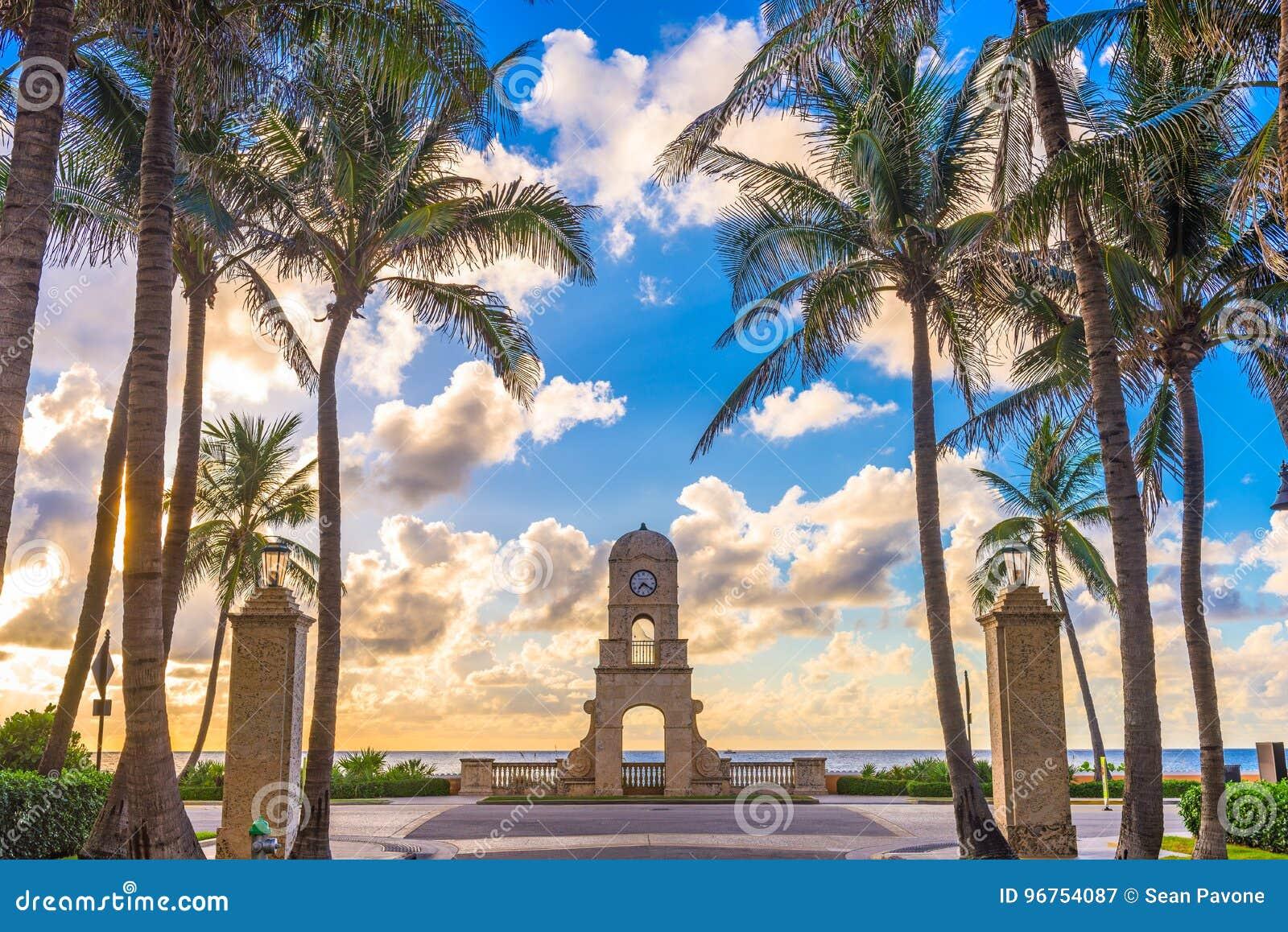Palm Beach da avenida do valor