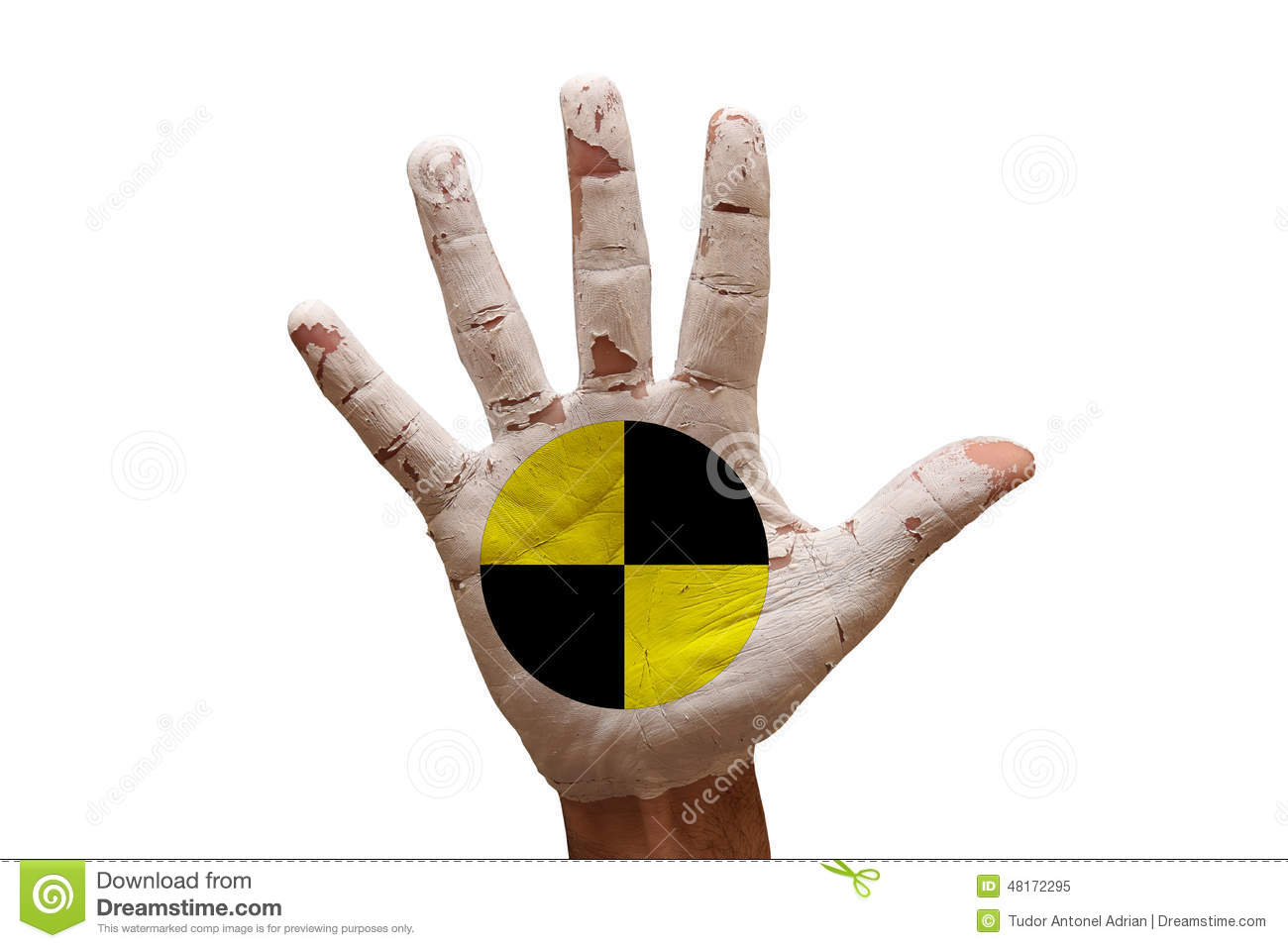 Palm Crash Test Dummies Stock Image Image Of Danger 48172295