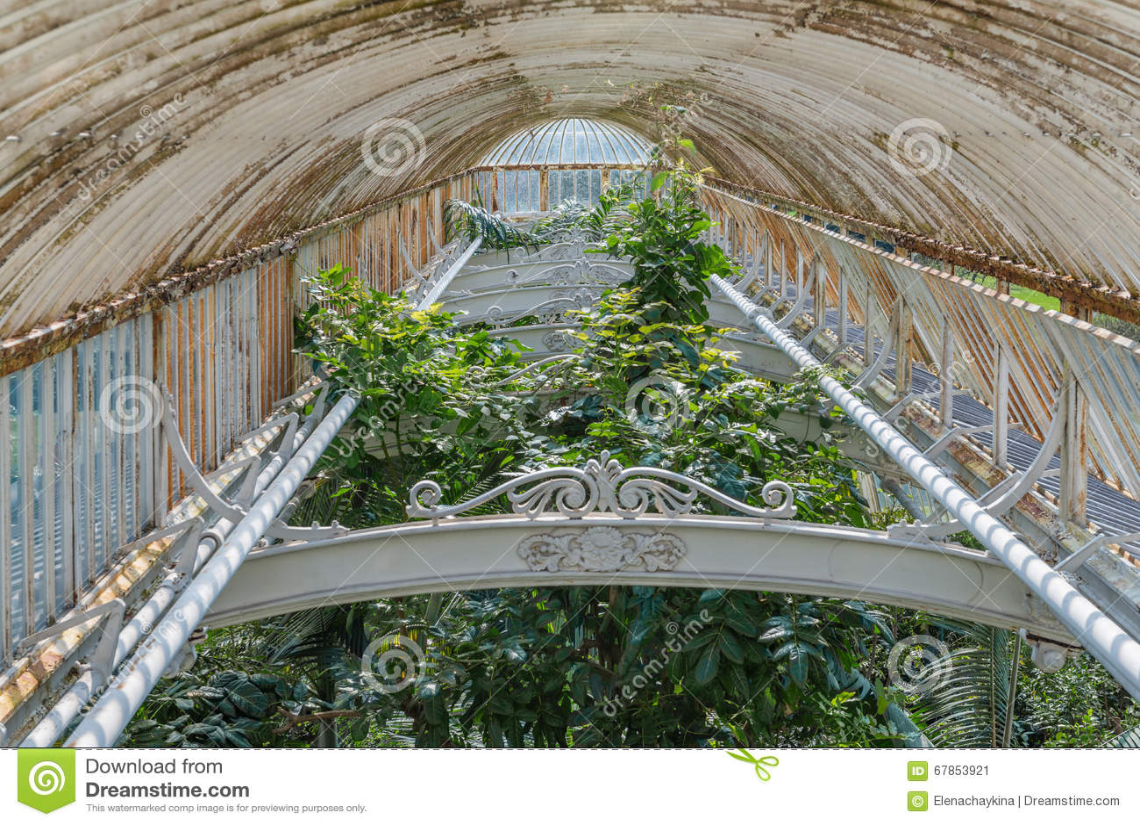 Kew United Kingdom  City new picture : London, United Kingdom April 06, 2015: Palm House in Kew Gardens ...