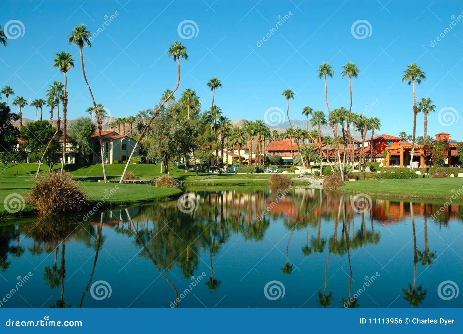 Palm Springs resort