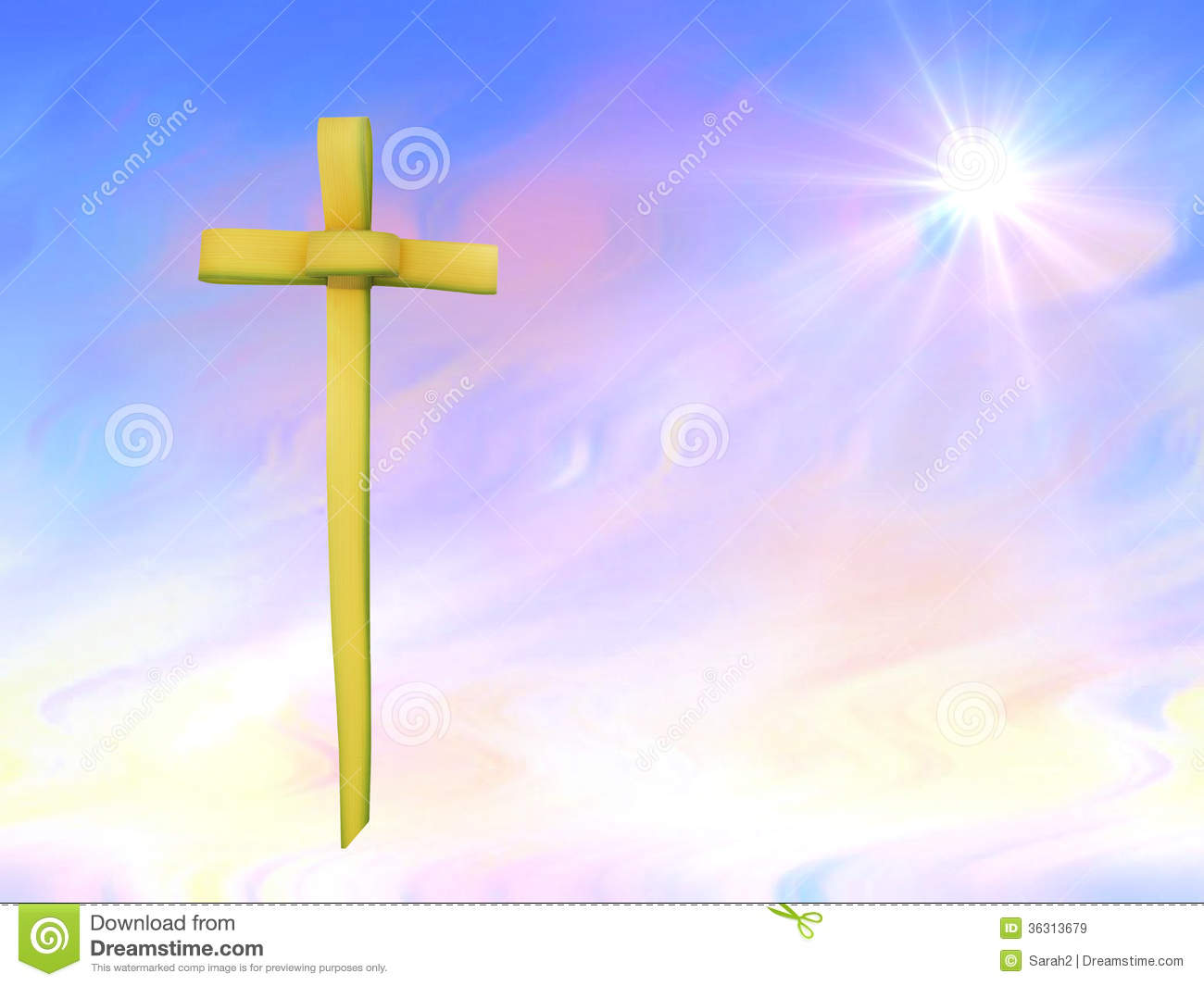 Palm Sunday Or Easter Background Royalty Free Stock Images - Image ...