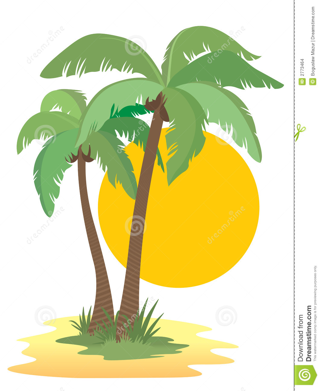 Hawaiian Palm Tree Clip Art Palm trees
