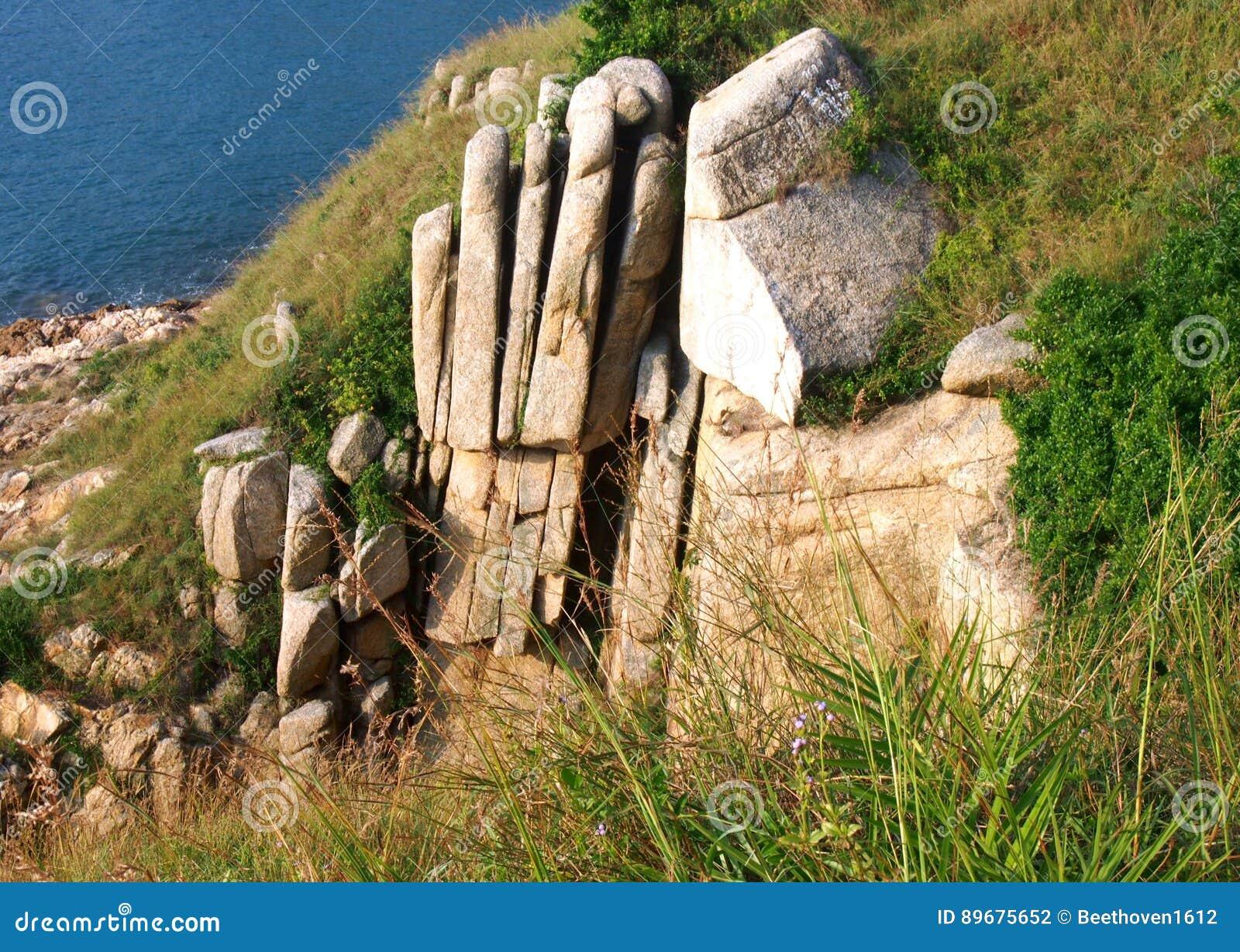 Palma Cliff Natural Granite Rock em Hong Kong