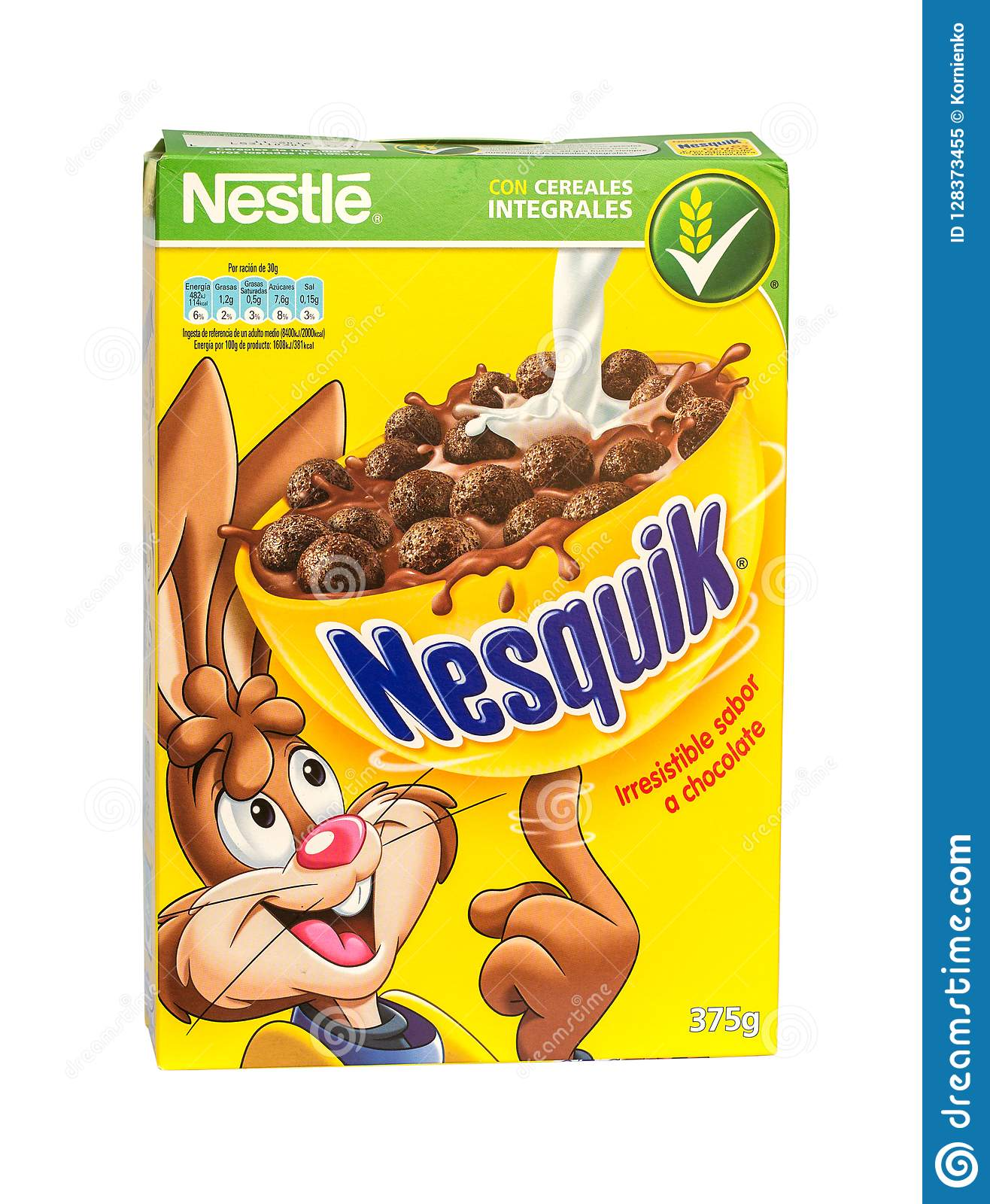 Chocolate Cereals From Nestle Brand Editorial Image - Image