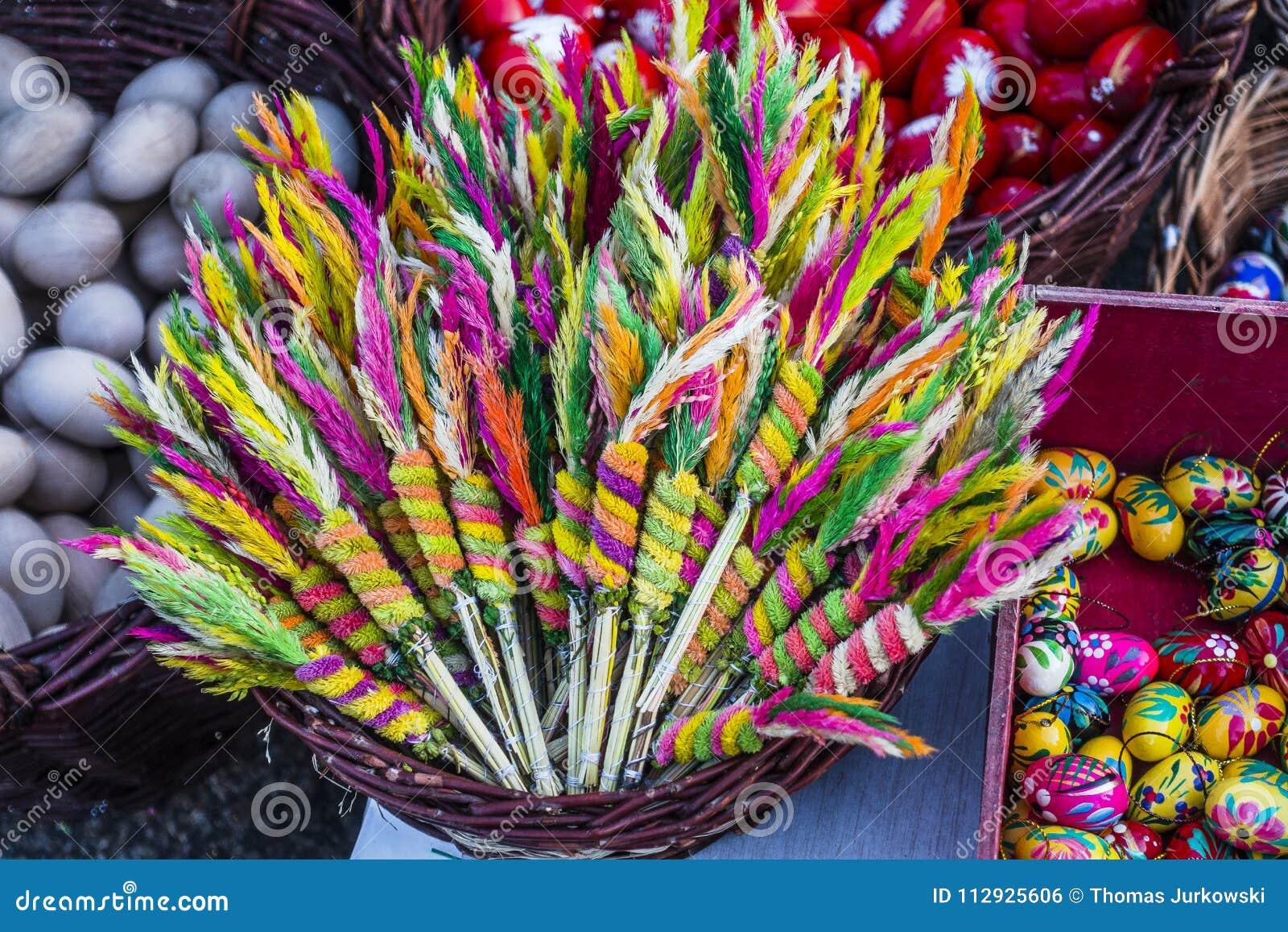 Palme Di Pasqua Fotografia Stock Immagine Di Coltura 112925606