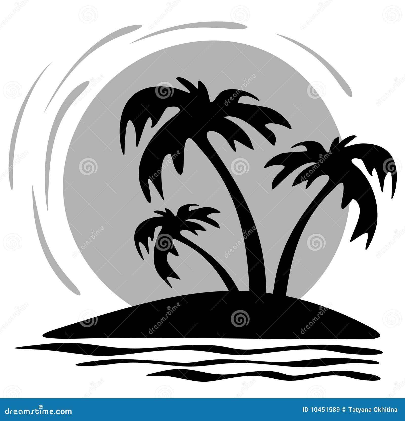 Palmen und Sonne