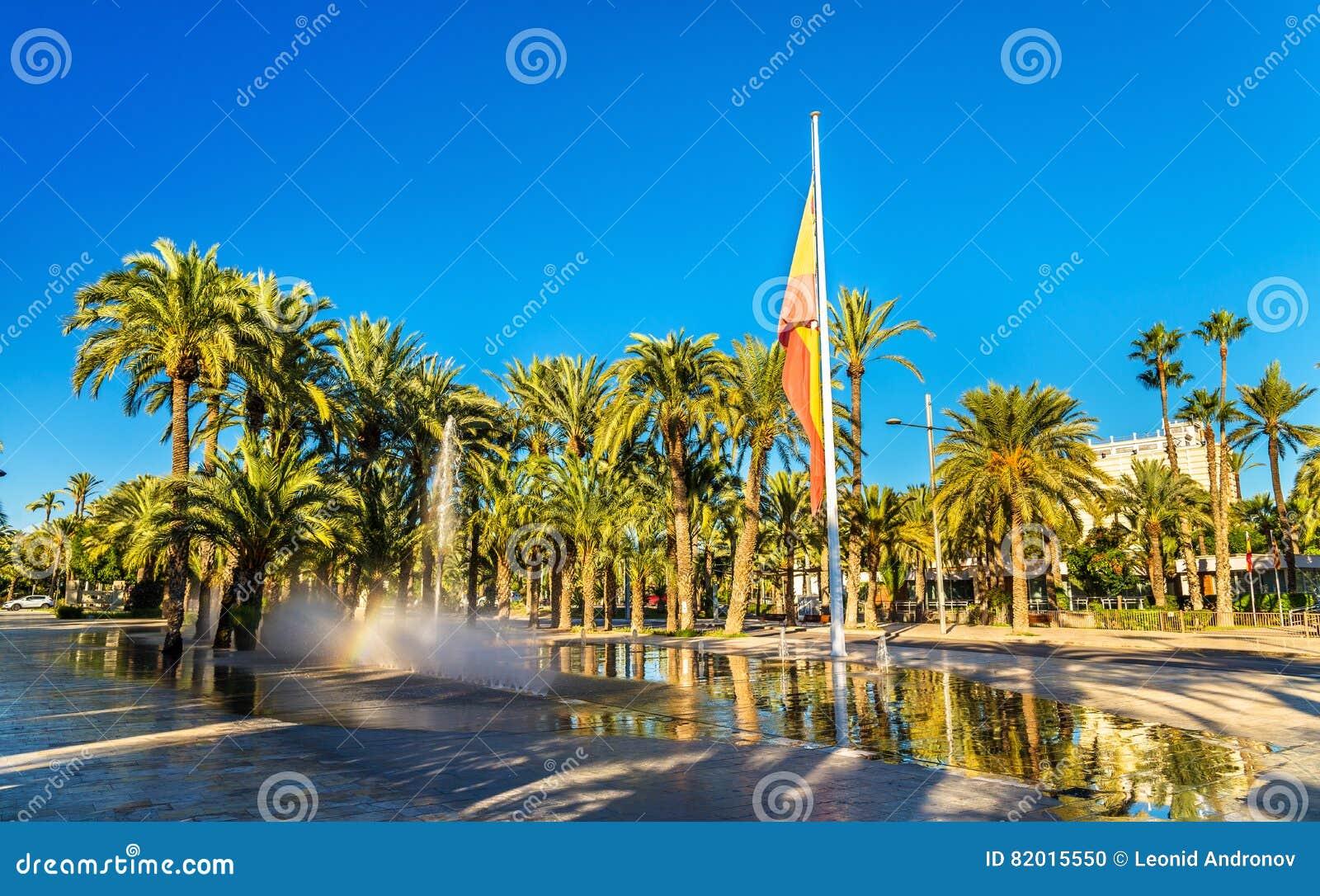 Palmeral de Elche, Spain Local da herança do Unesco