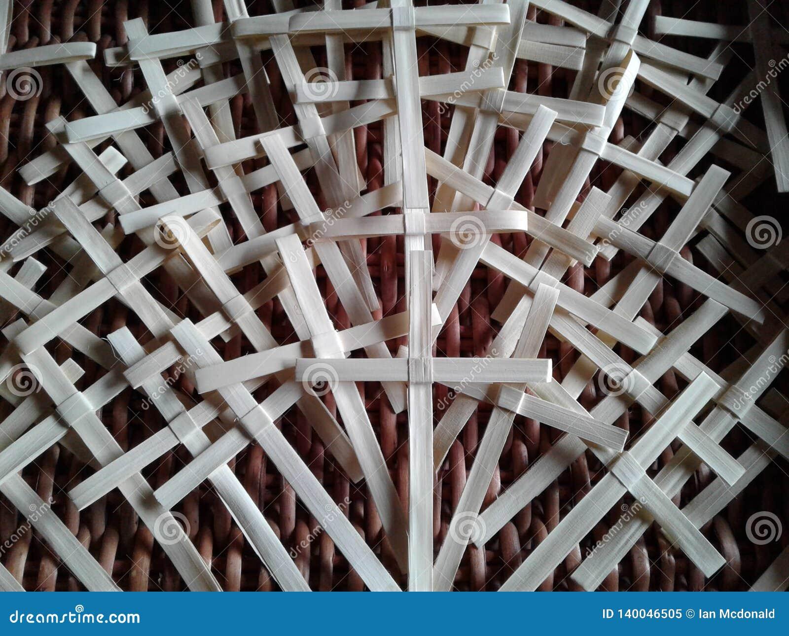 Palmowej Niedzieli krzyże