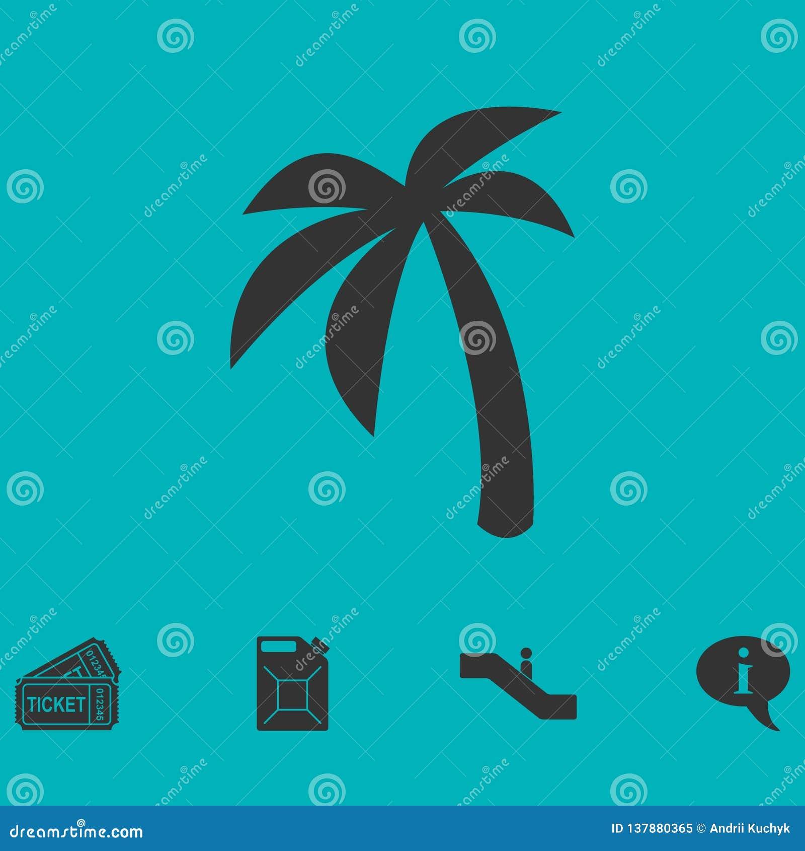 Palmowy ikony mieszkanie