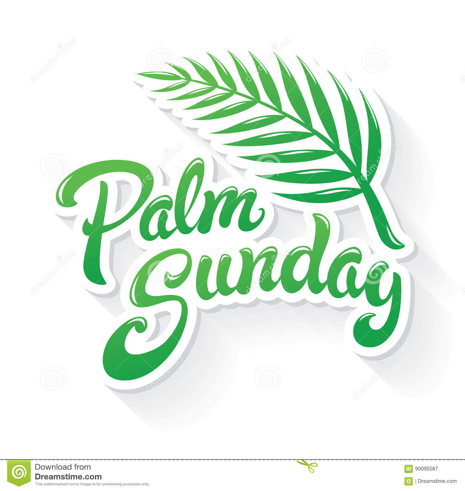 Palmsöndaghälsning