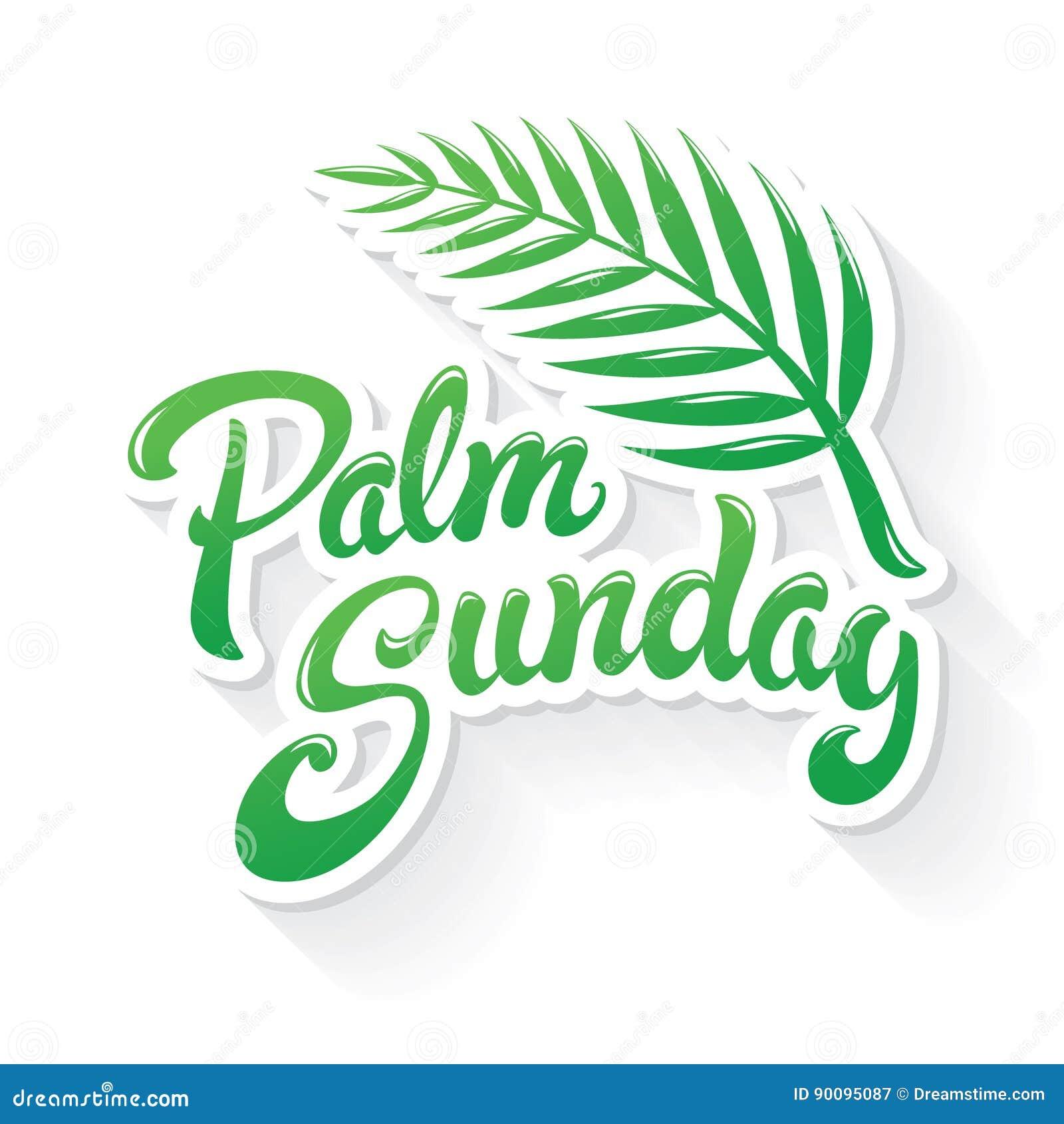 Palmsonntags-Gruß
