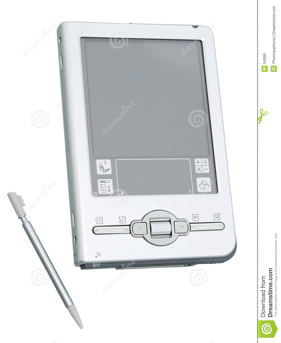 Download Palmtop Et Styliste Ont Isolé (image 8.2mp) Image stock - Image du poche, isolement: 54995