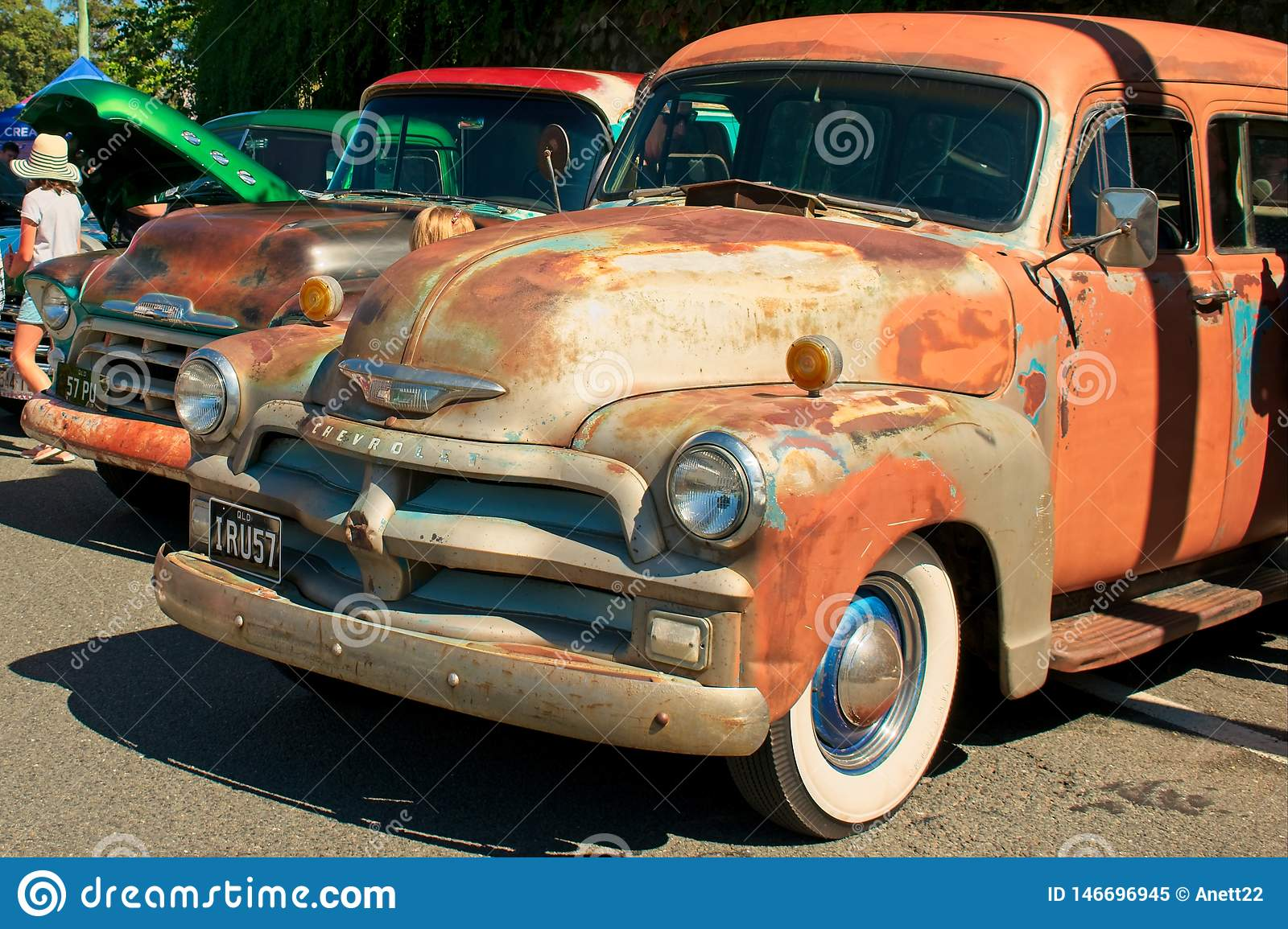 Old Rusty Chevrolet Editorial Image Image Of Chevy 146696945